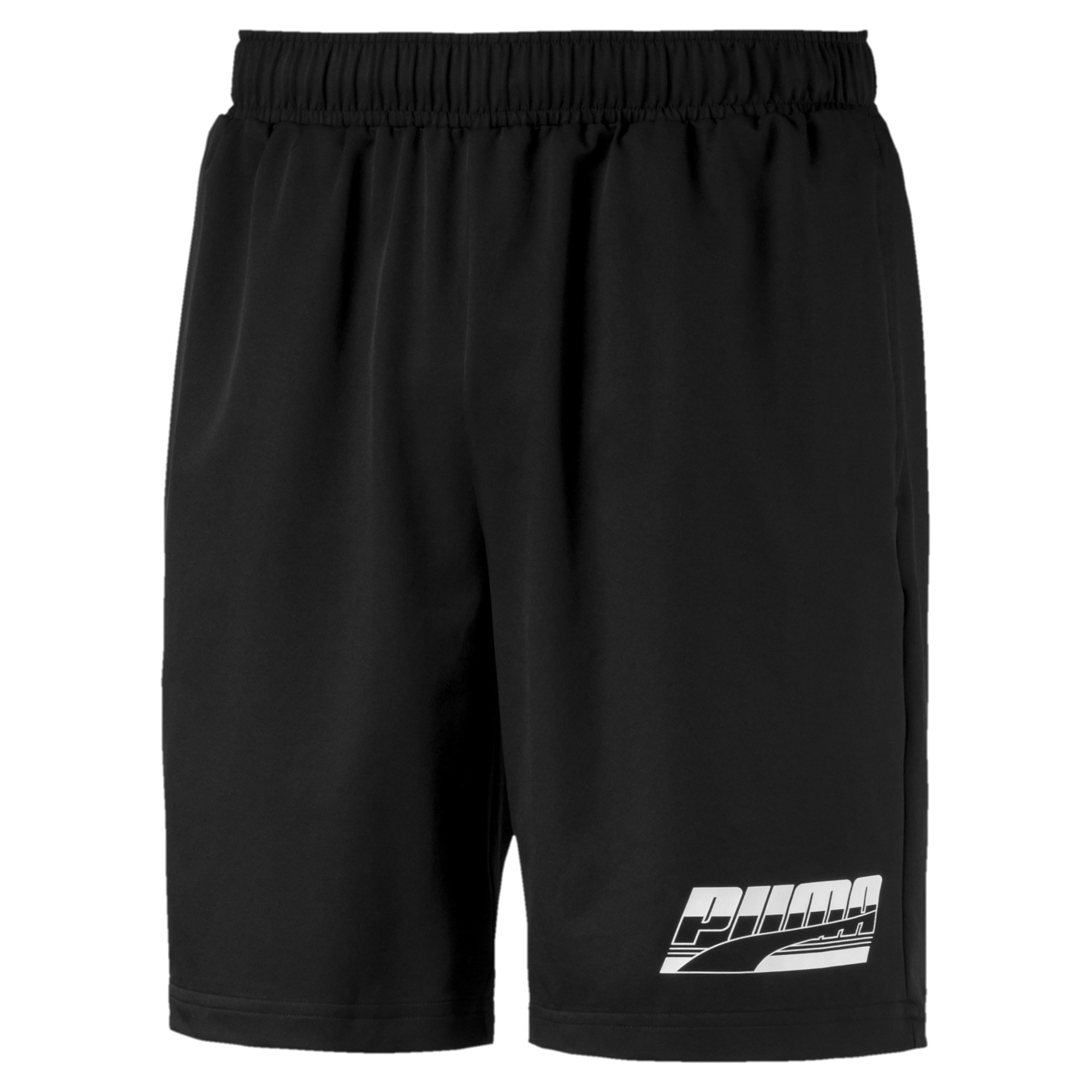 "Thumbnail 1 of Rebel Woven 8"" Men's Shorts, Puma Black, medium"