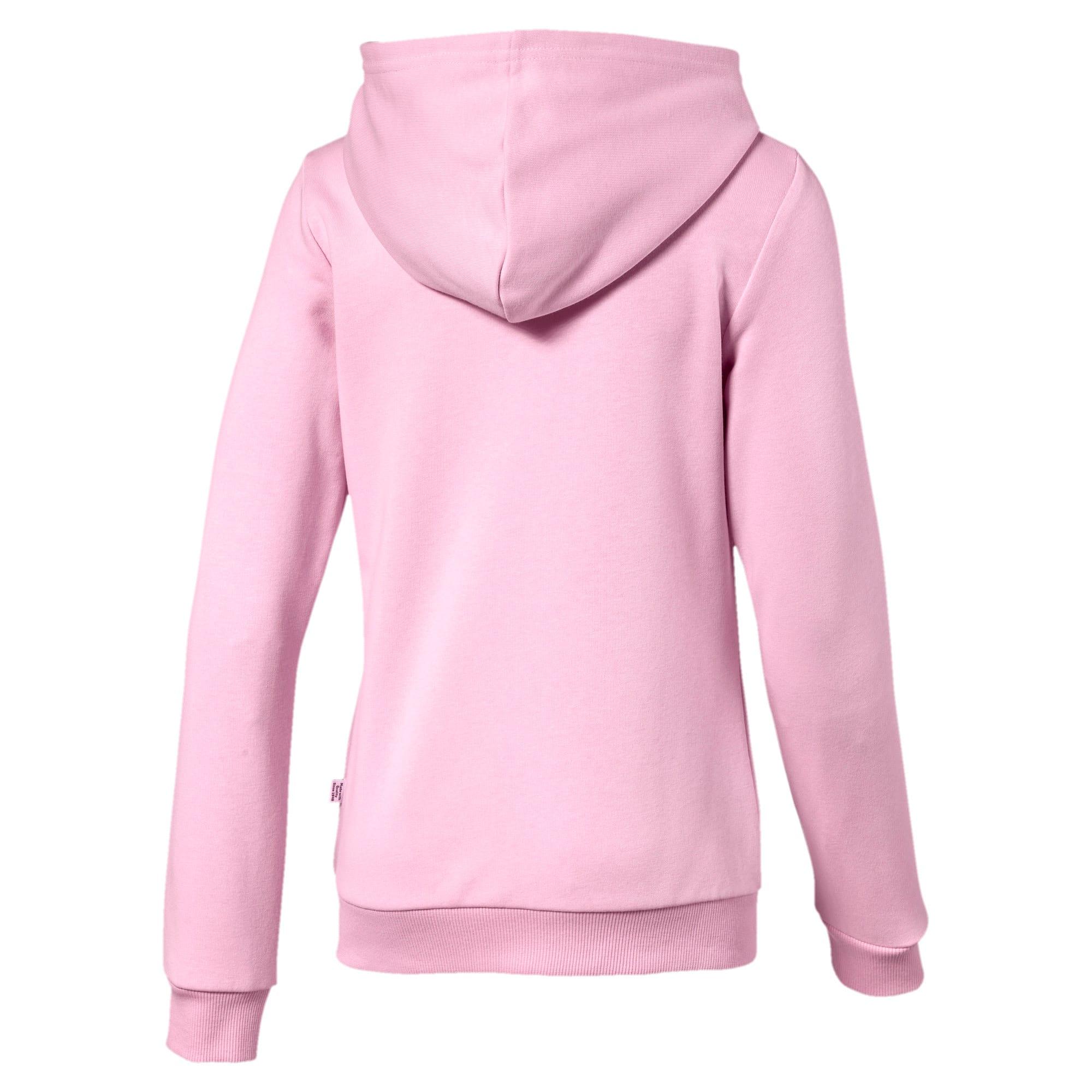 Thumbnail 2 of Blouson à capuche Essentials pour fille, Pale Pink, medium
