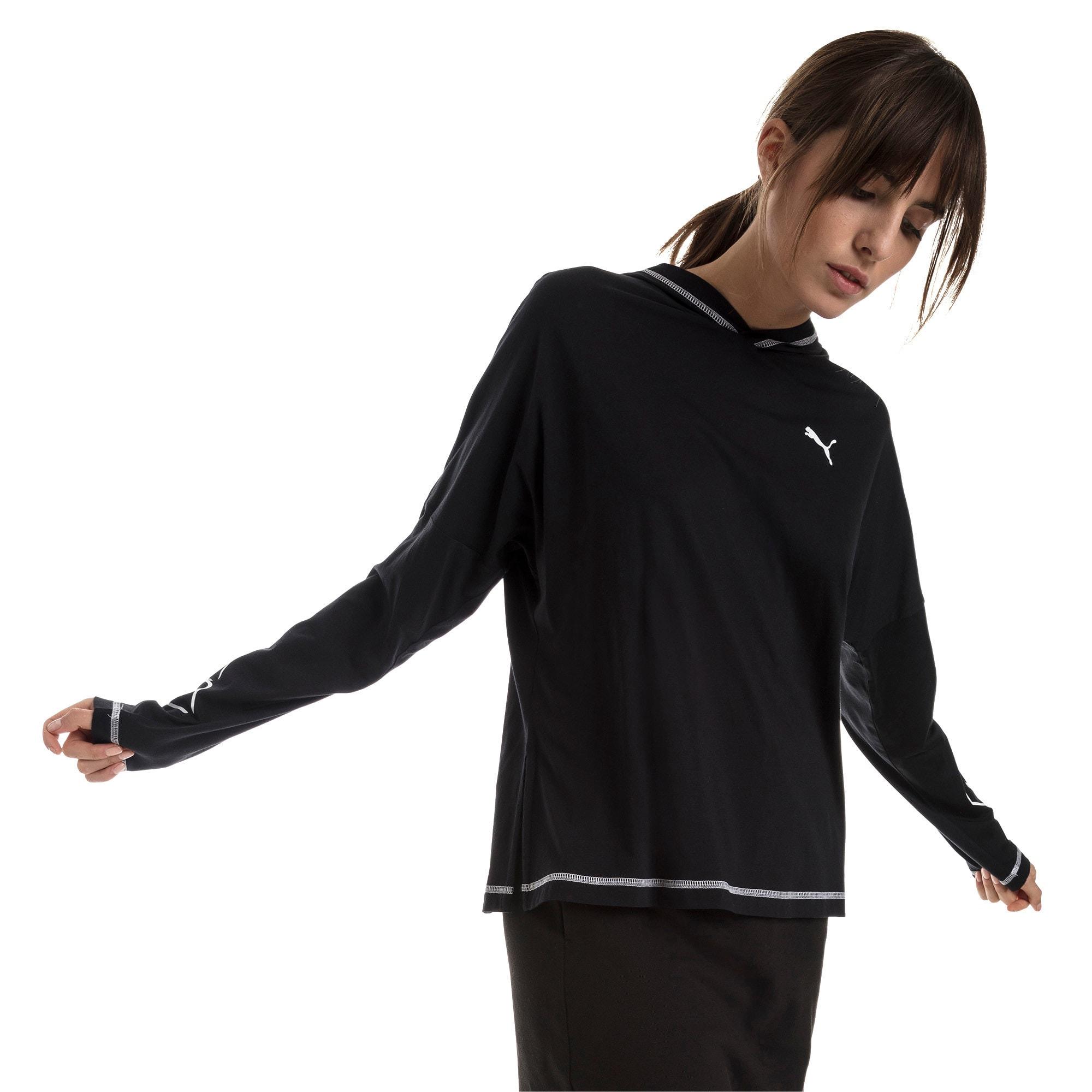 Miniatura 1 de Top liviano Modern Sports para mujer, Cotton Black, mediano