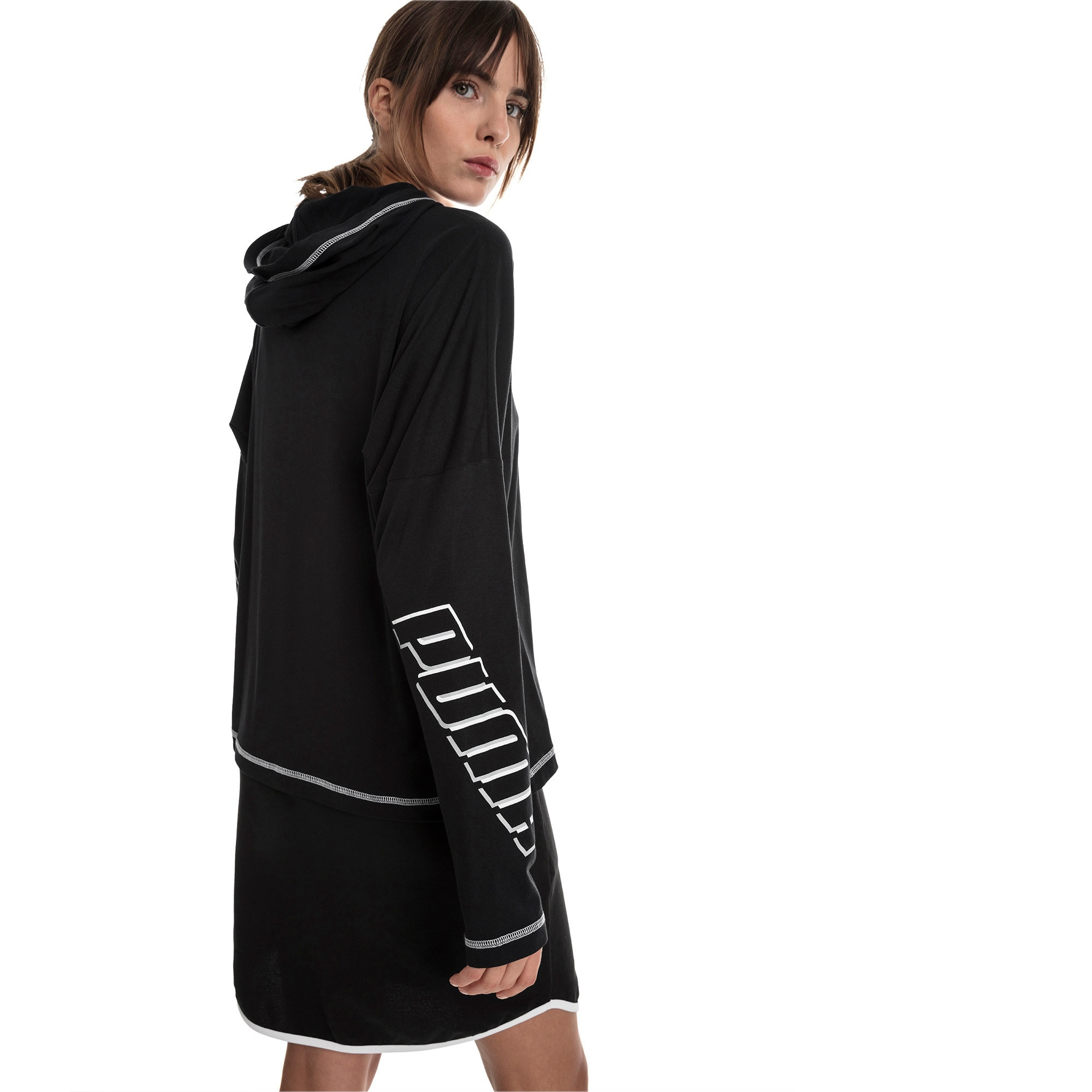 Miniatura 2 de Top liviano Modern Sports para mujer, Cotton Black, mediano