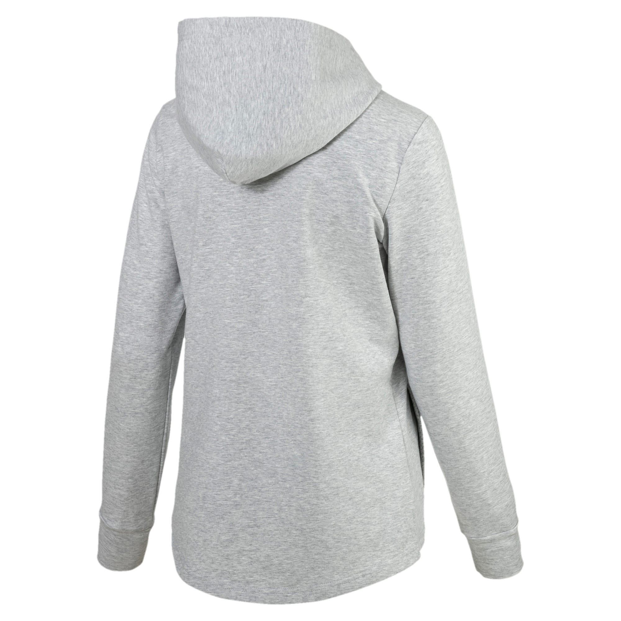 Thumbnail 3 of Modern Sports Hooded Jacket, Light Gray Heather, medium