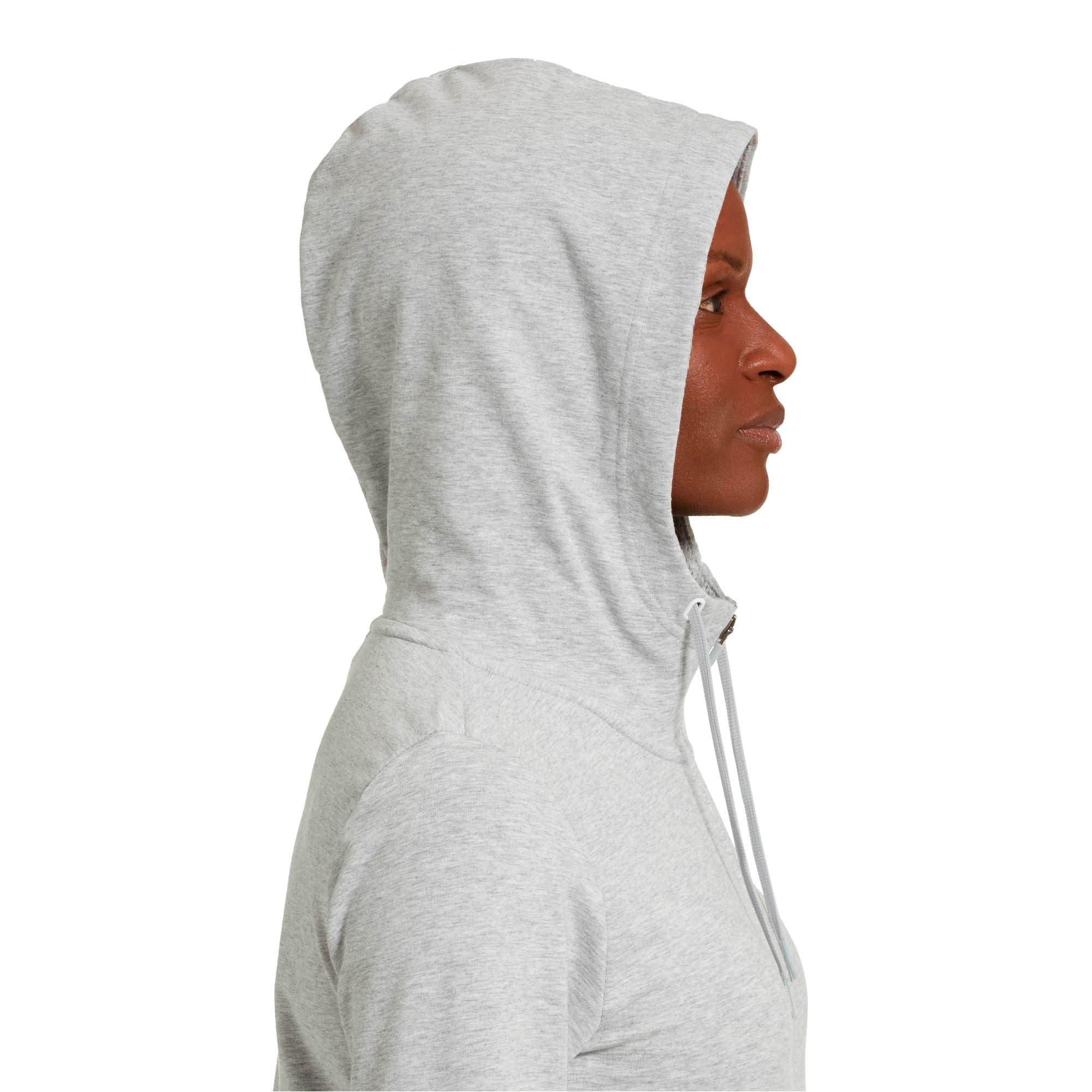 Thumbnail 4 of Modern Sports Hooded Jacket, Light Gray Heather, medium
