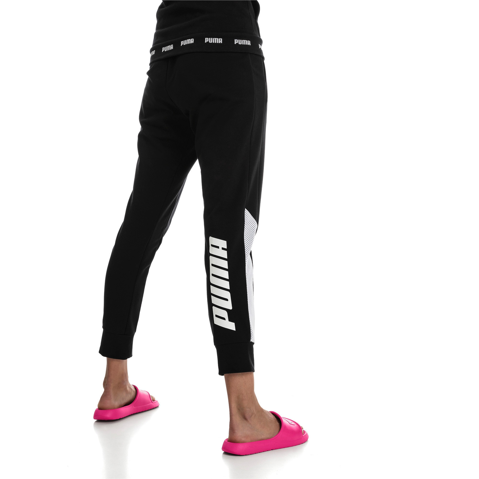 Thumbnail 2 of Modern Sports Pants, Cotton Black, medium