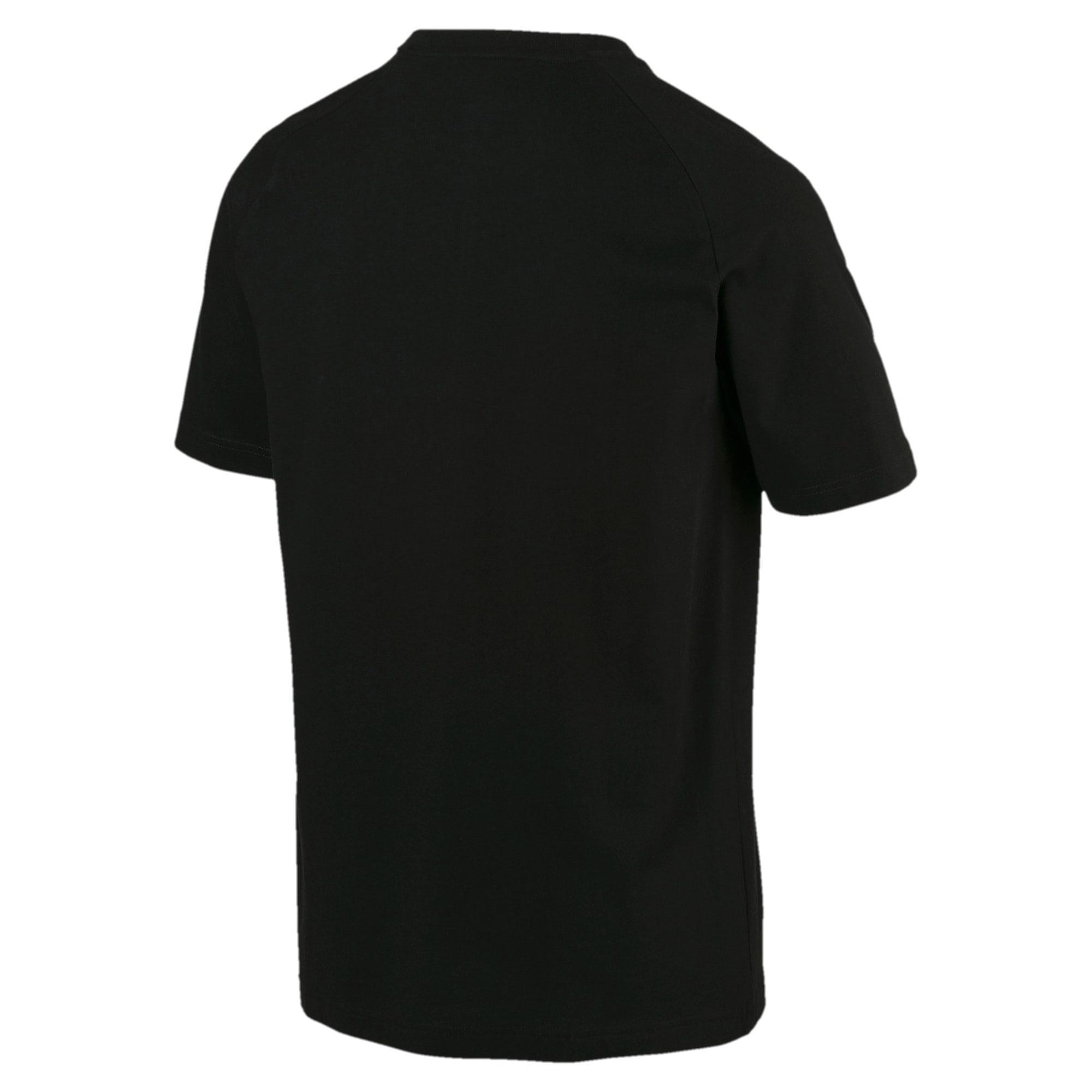 Thumbnail 3 of Modern Sports Men's Tee, Cotton Black, medium