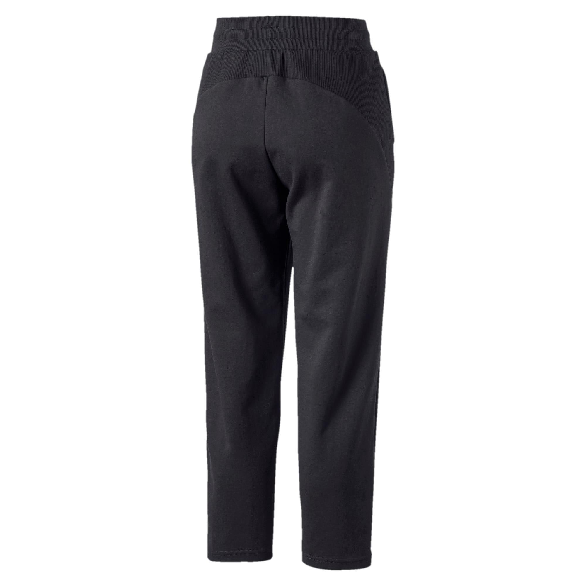 Thumbnail 5 of Fusion Women's Sweatpants, Cotton Black, medium