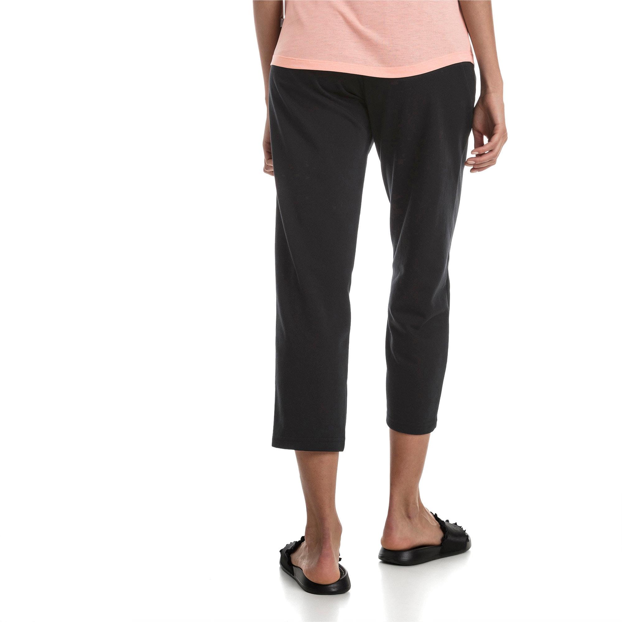 Thumbnail 2 of Fusion Women's Sweatpants, Cotton Black, medium
