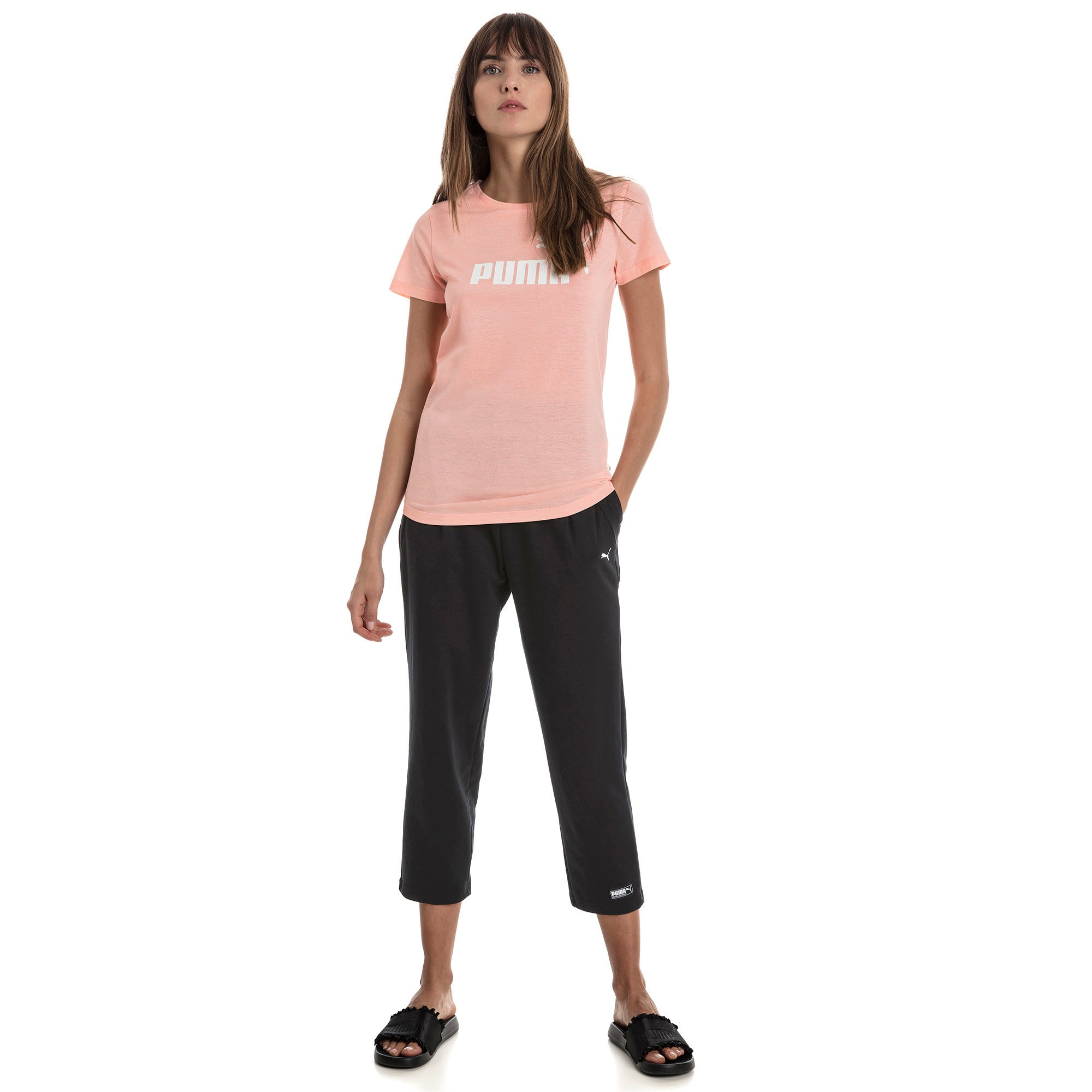 Thumbnail 3 of Fusion Women's Sweatpants, Cotton Black, medium