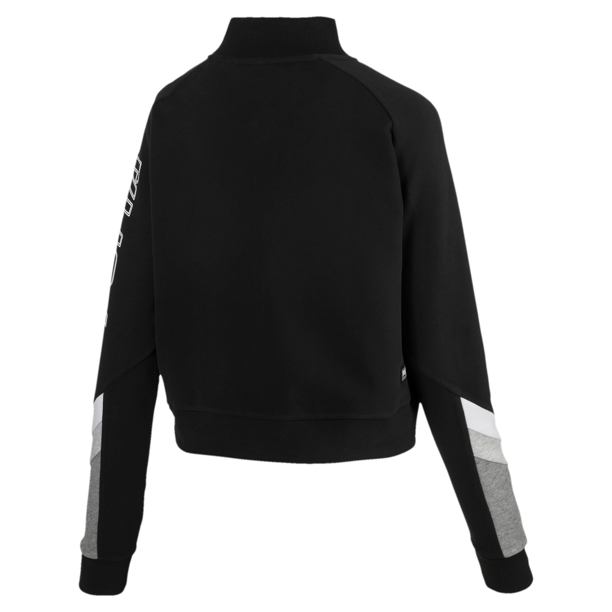 Thumbnail 5 of Athletics Bomber Jacket, Cotton Black, medium