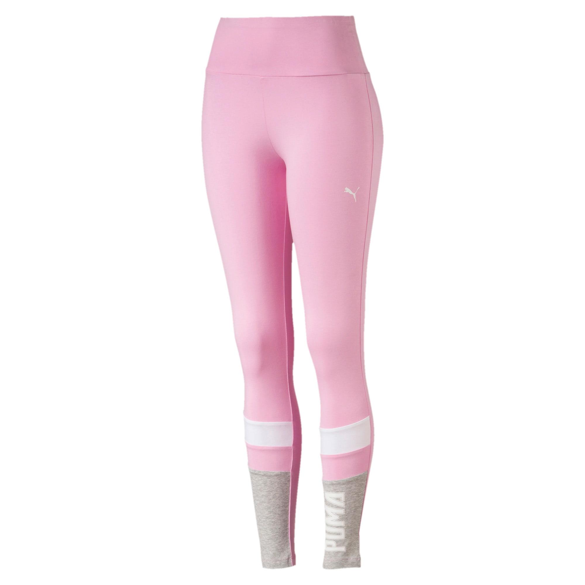 Thumbnail 1 of Athletics Graphic Women's Leggings, Pale Pink, medium