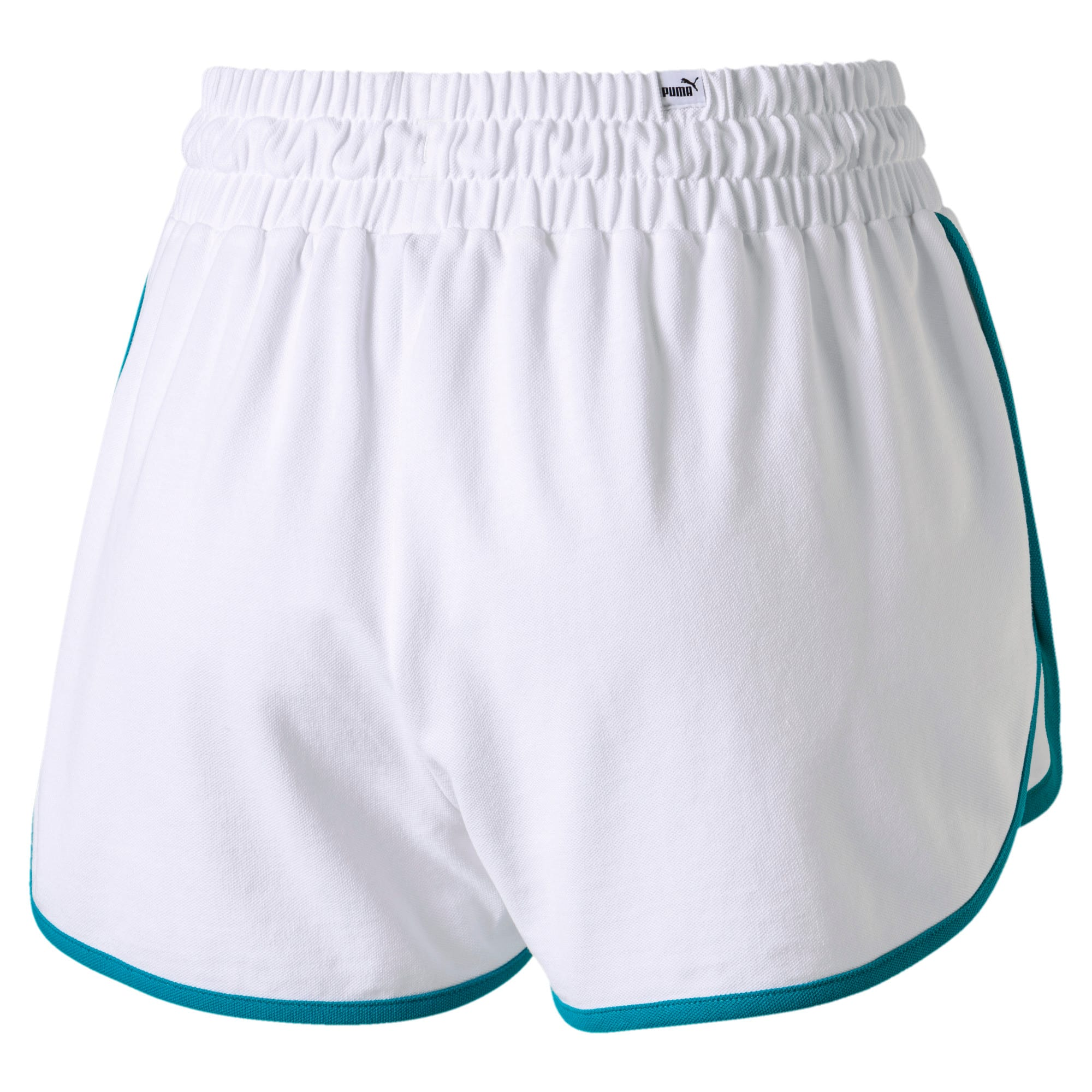Thumbnail 3 of Women's Summer Shorts, Puma White, medium