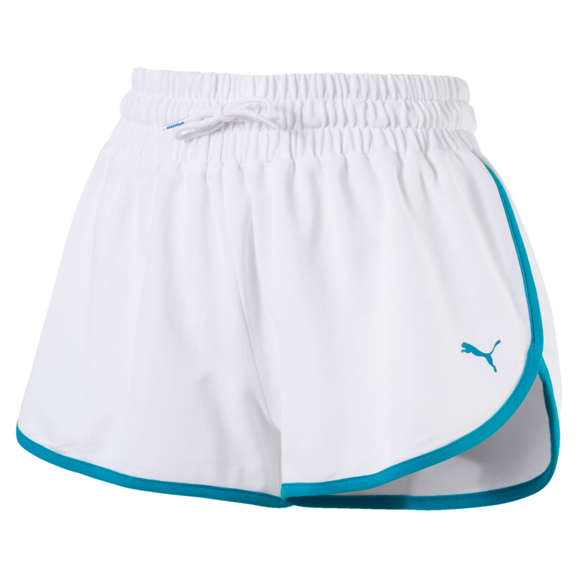 Thumbnail 2 of Women's Summer Shorts, Puma White, medium
