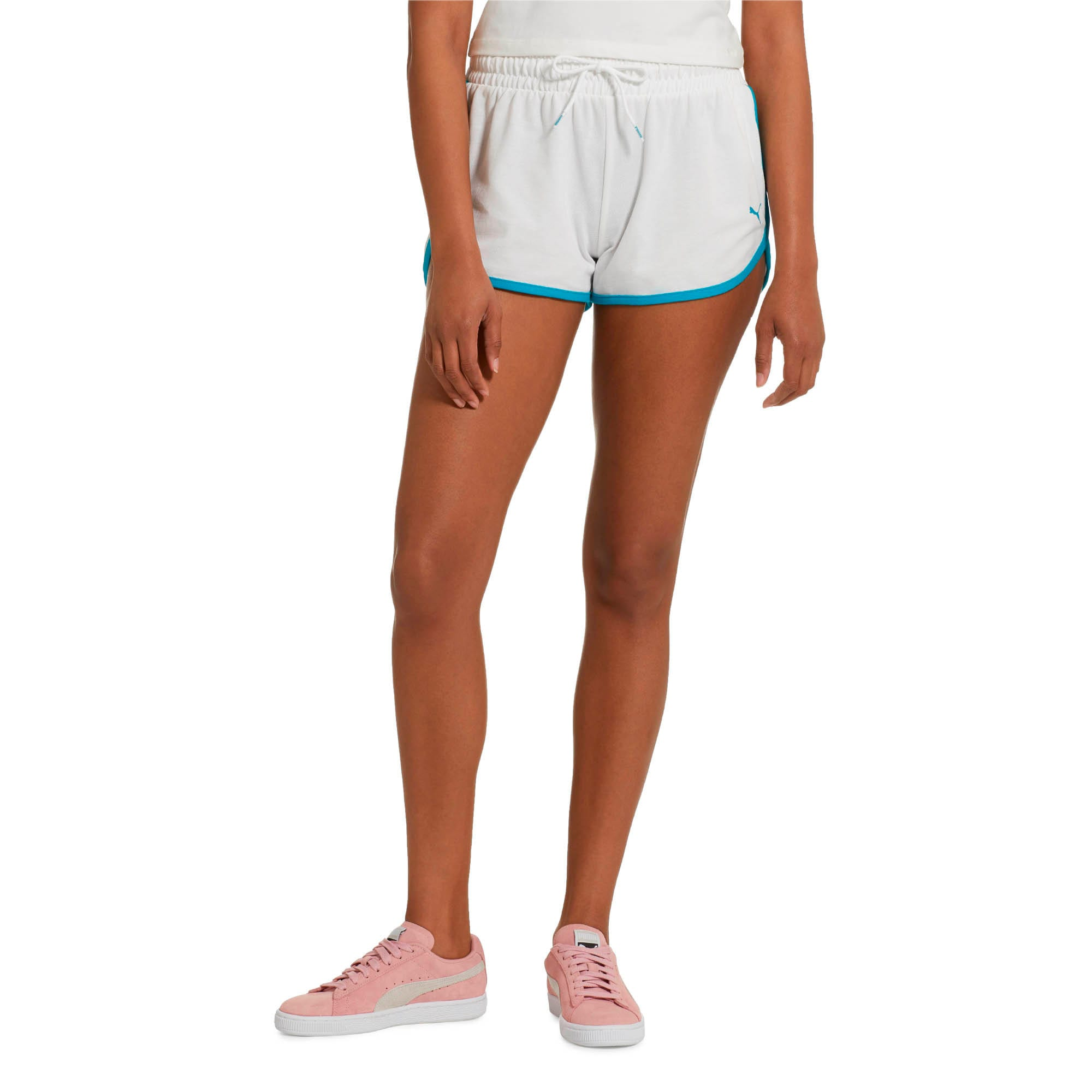 Women's Summer Shorts, Puma White, large