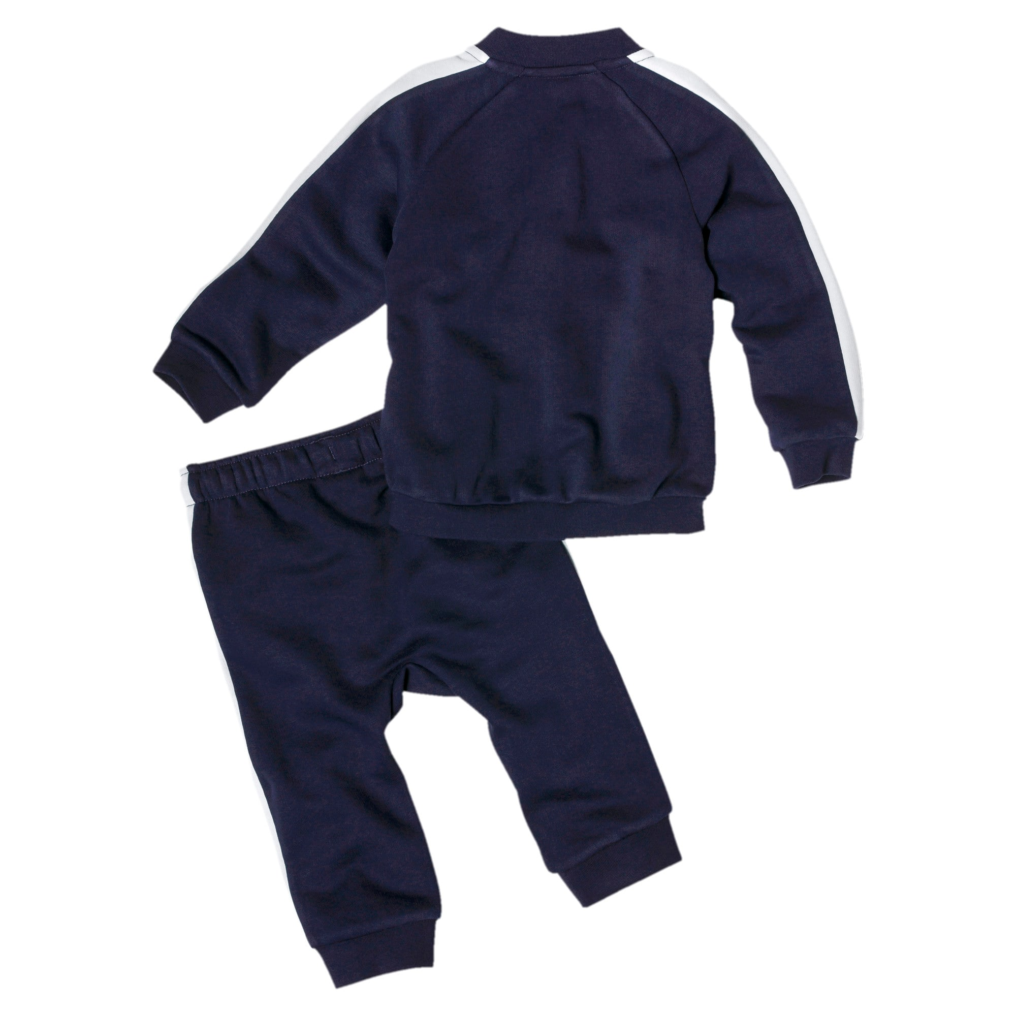 Thumbnail 2 of Minicats T7 Full Zip Babies' Jogger Set, Peacoat, medium