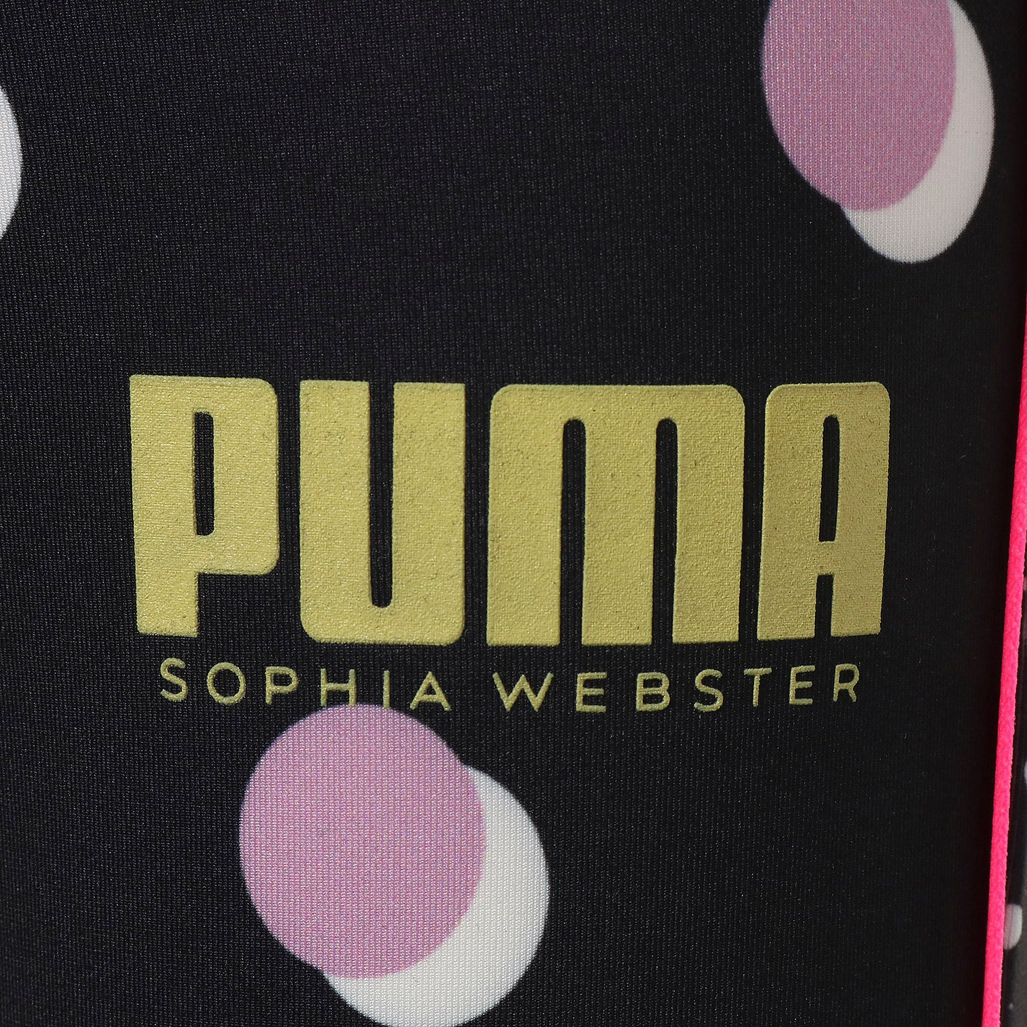 Thumbnail 4 of キッズ ガールズ PUMA x SOPHIA WEBSTER タイツ, Puma White, medium-JPN