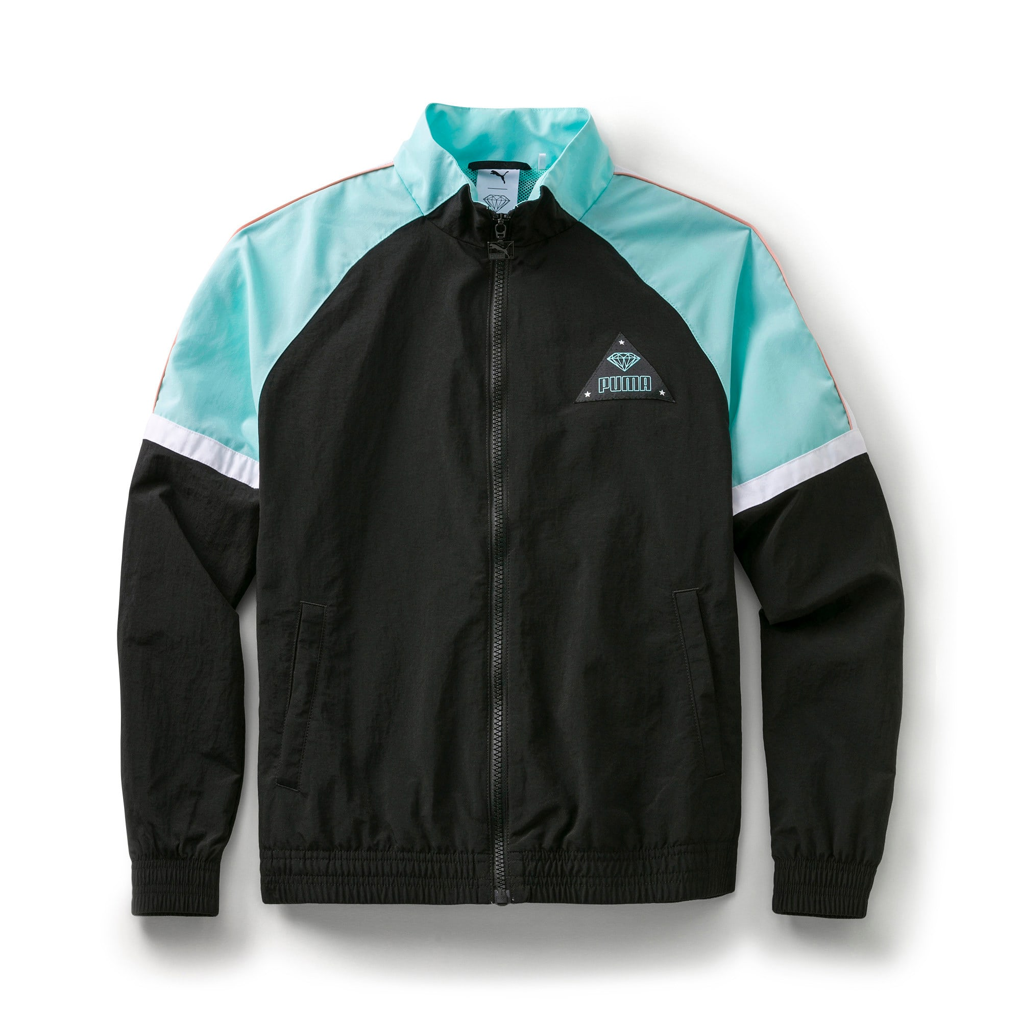 Thumbnail 1 of PUMA x DIAMOND SUPPLY CO. Boy's XTG Track Top, Puma Black, medium
