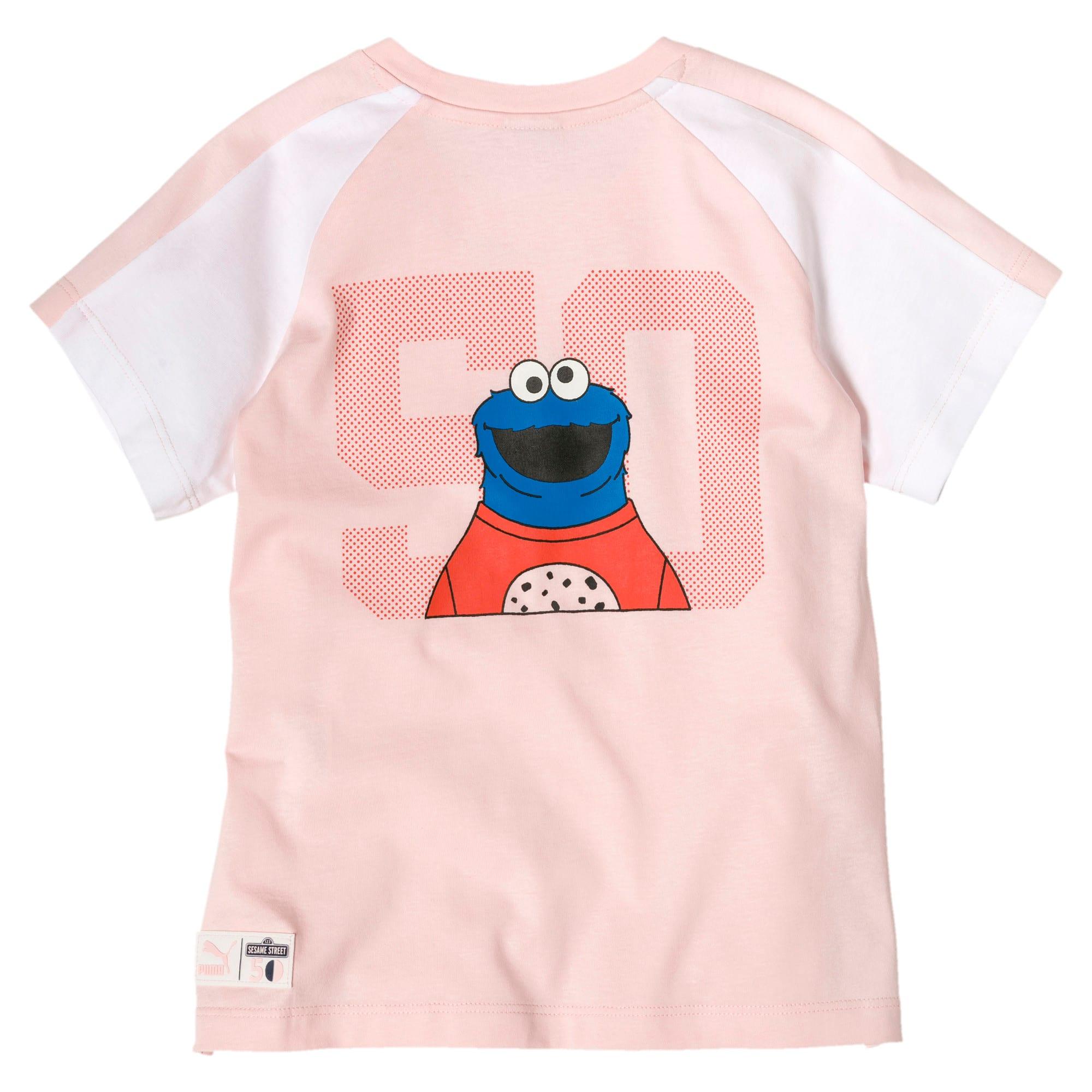 Miniatura 2 de Camiseta PUMA x SESAME STREET para niña, Veiled Rose, mediano
