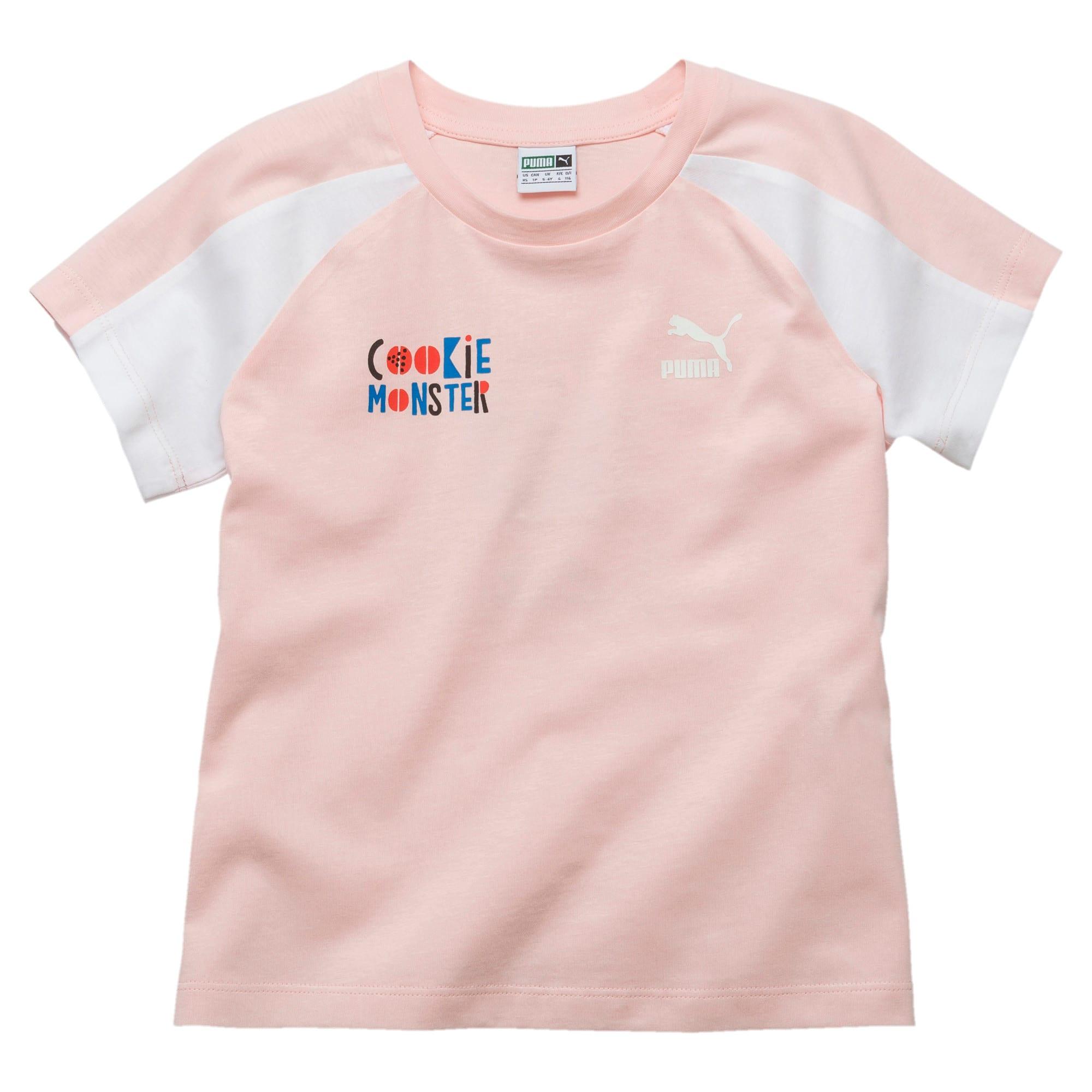 Miniatura 1 de Camiseta PUMA x SESAME STREET para niña, Veiled Rose, mediano