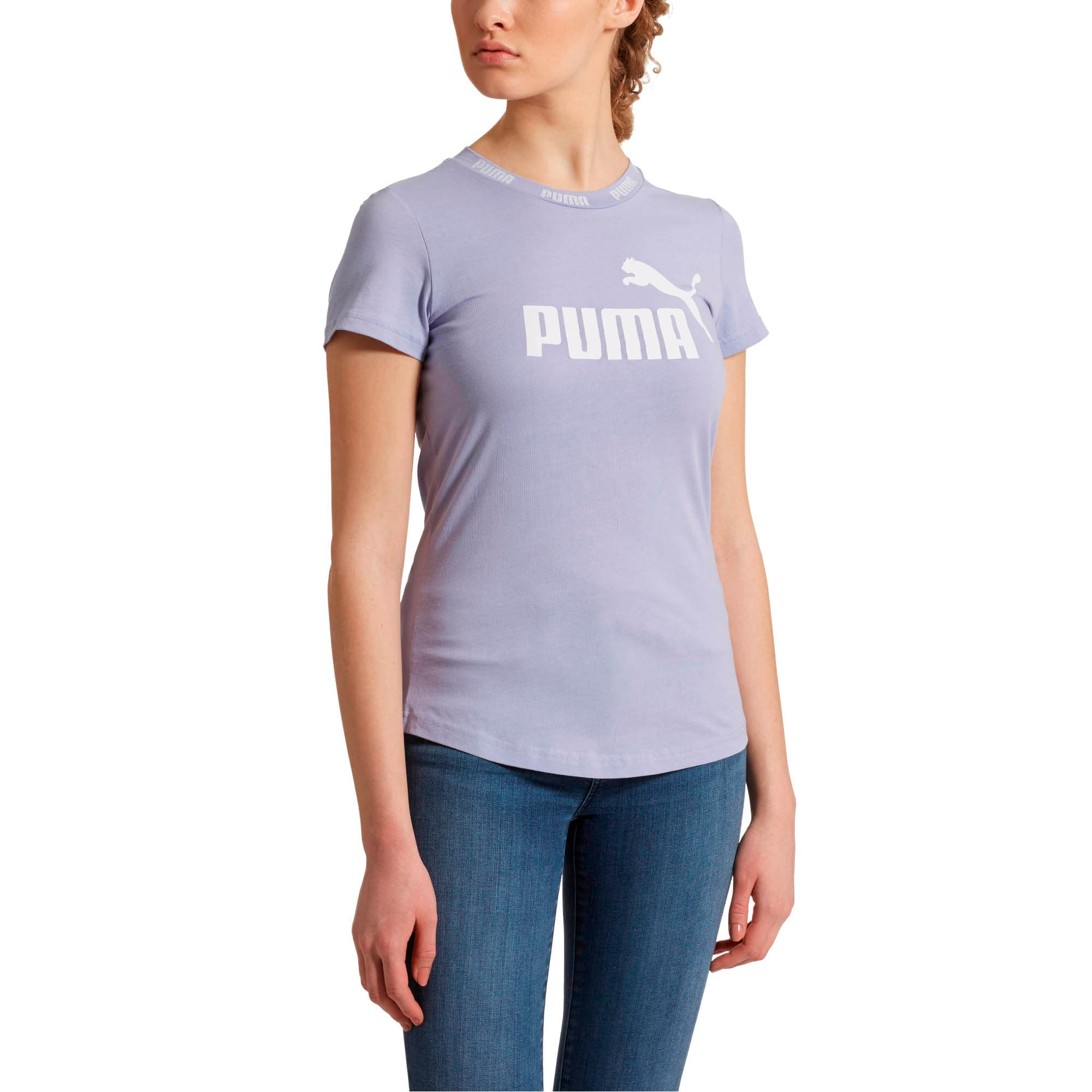 Thumbnail 2 of Amplified Women's Tee, Sweet Lavender, medium