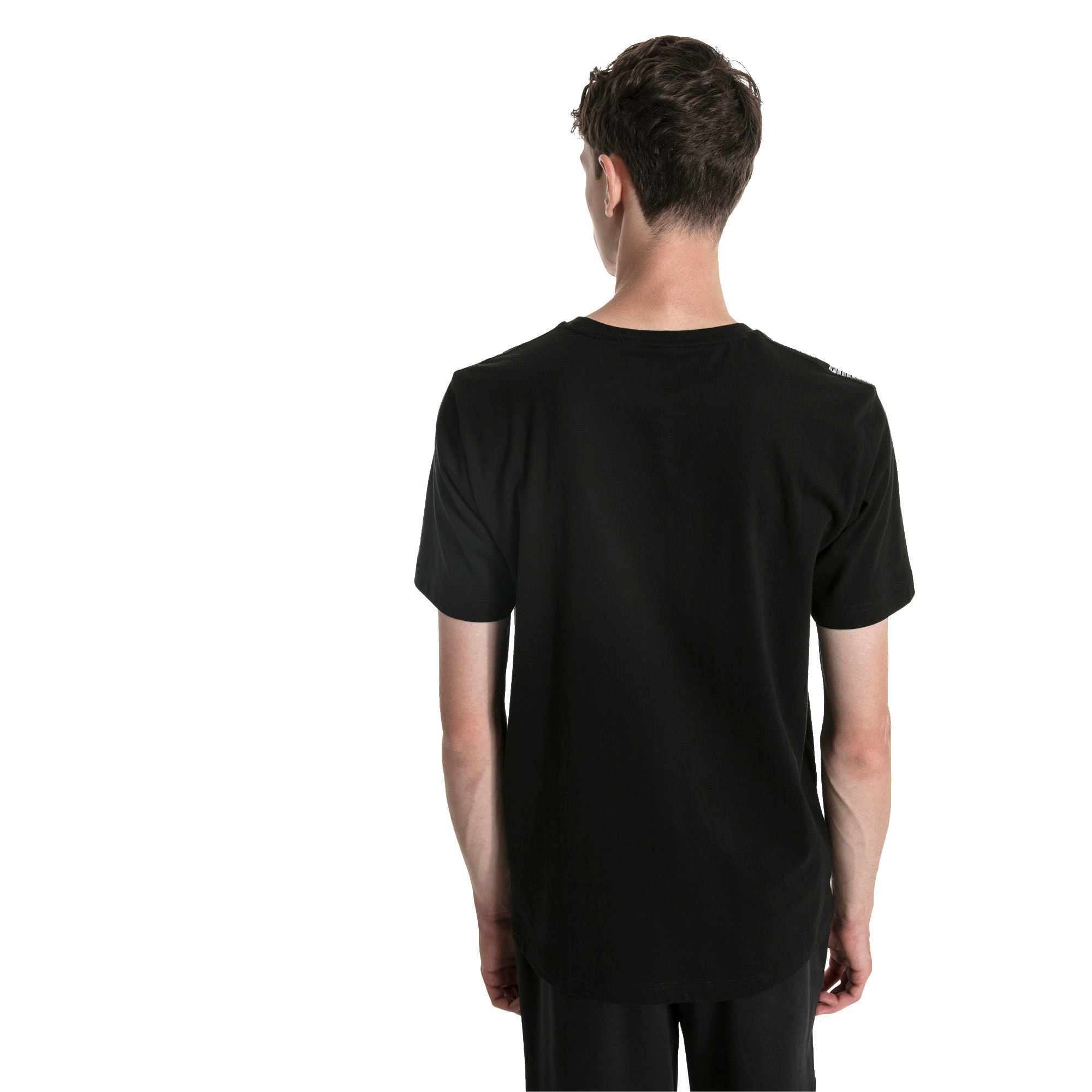 Amplified Tee, Cotton Black, large
