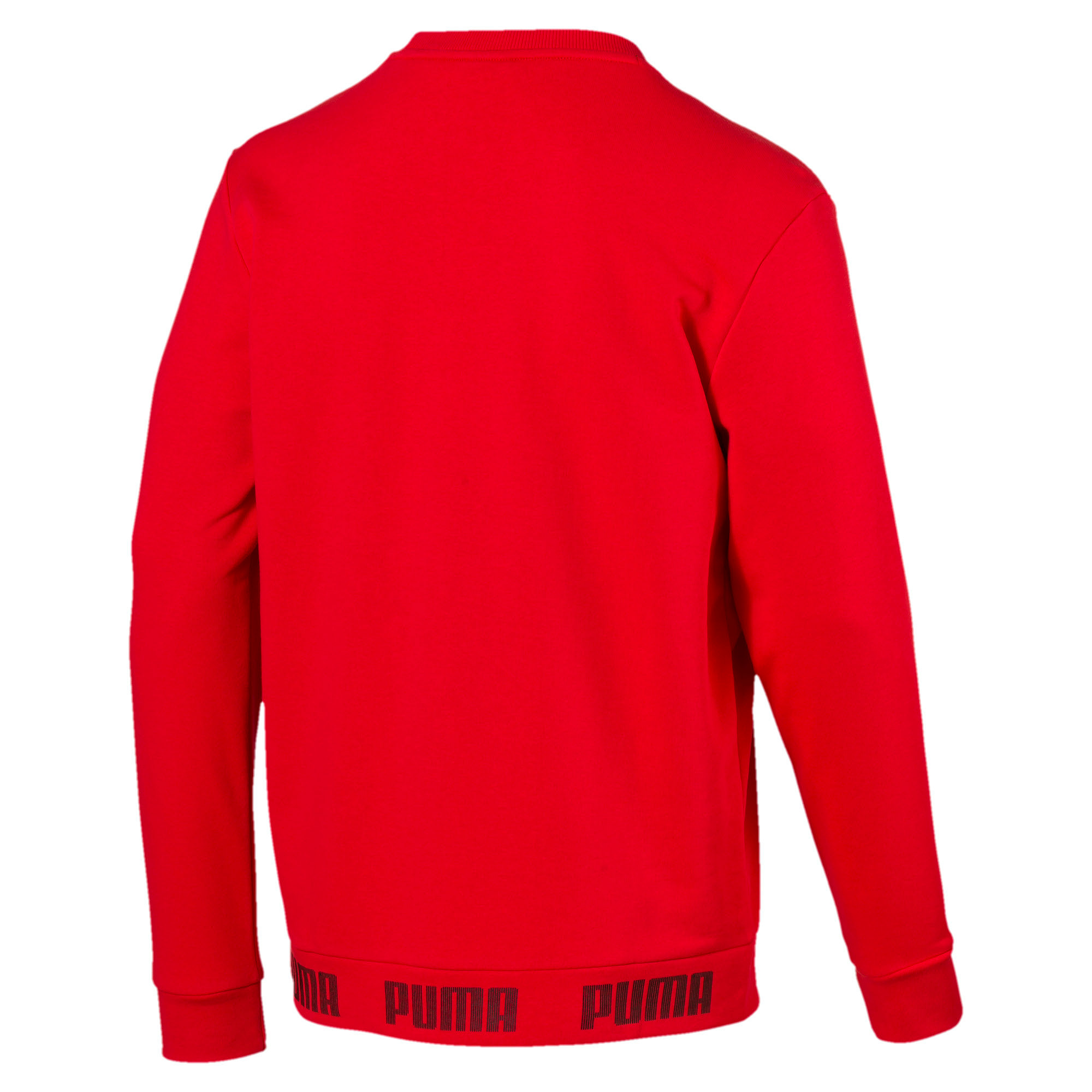 Thumbnail 3 of Amplified Crew Sweat, High Risk Red, medium