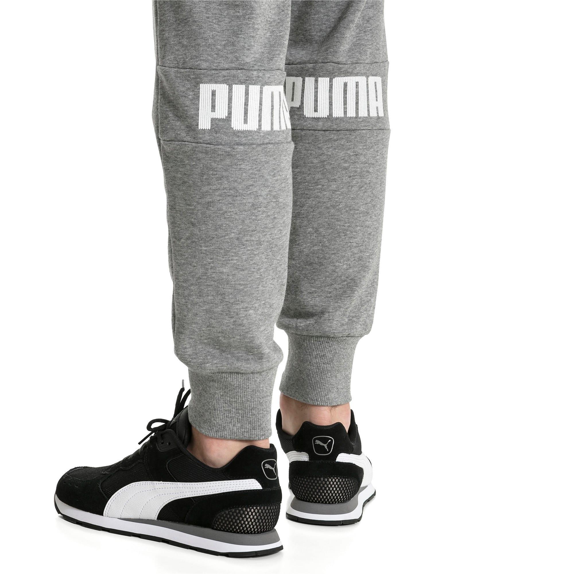Thumbnail 4 of Amplified Men's Sweatpants, Medium Gray Heather, medium