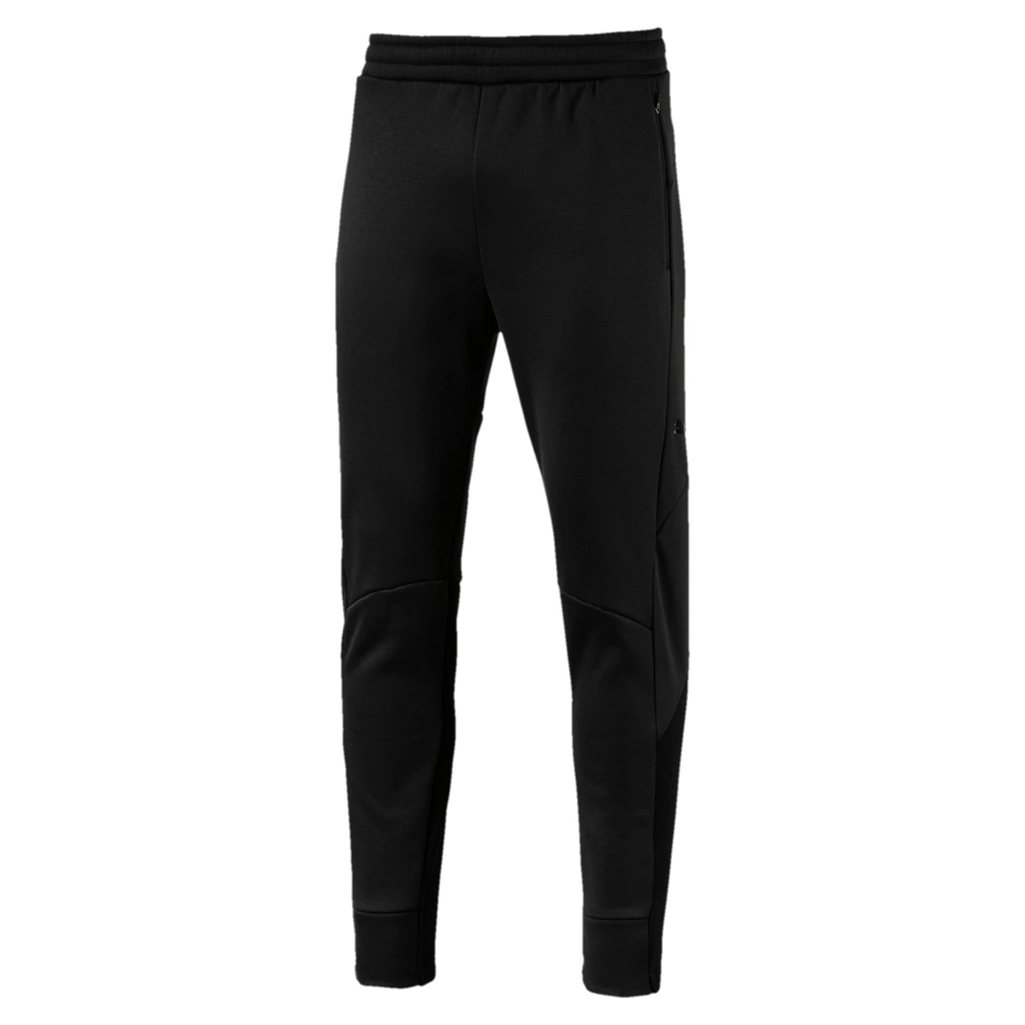 Thumbnail 1 of EVOstripe Hybrid Men's Pants, Puma Black, medium