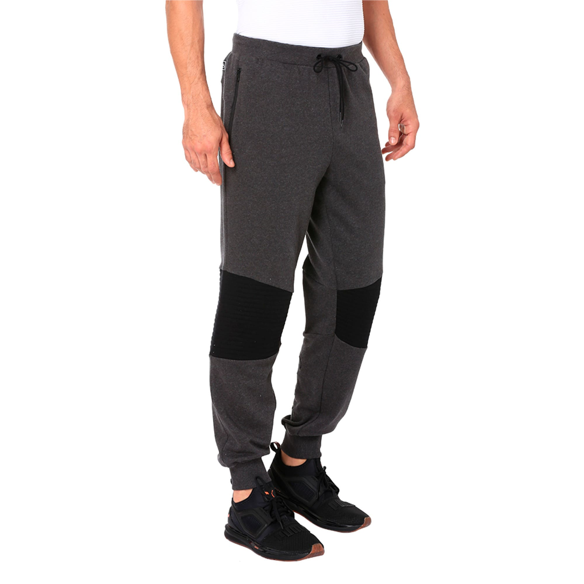 Thumbnail 5 of One8 VK Men's Sweat Pants, Dark Gray Heather, medium-IND