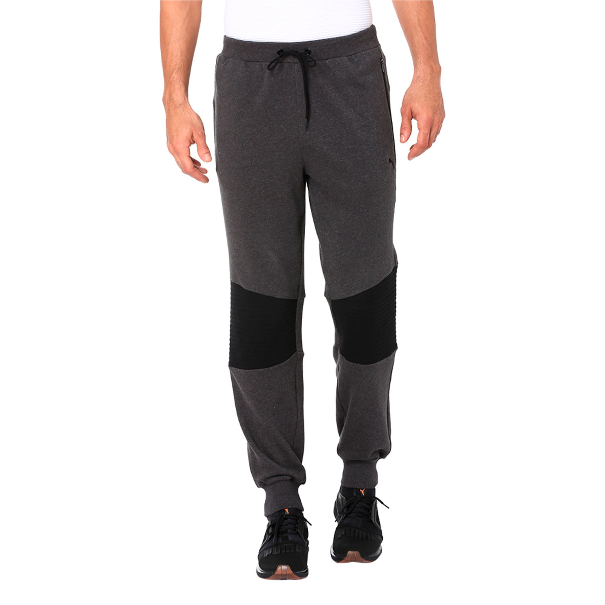 Thumbnail 4 of One8 VK Men's Sweat Pants, Dark Gray Heather, medium-IND