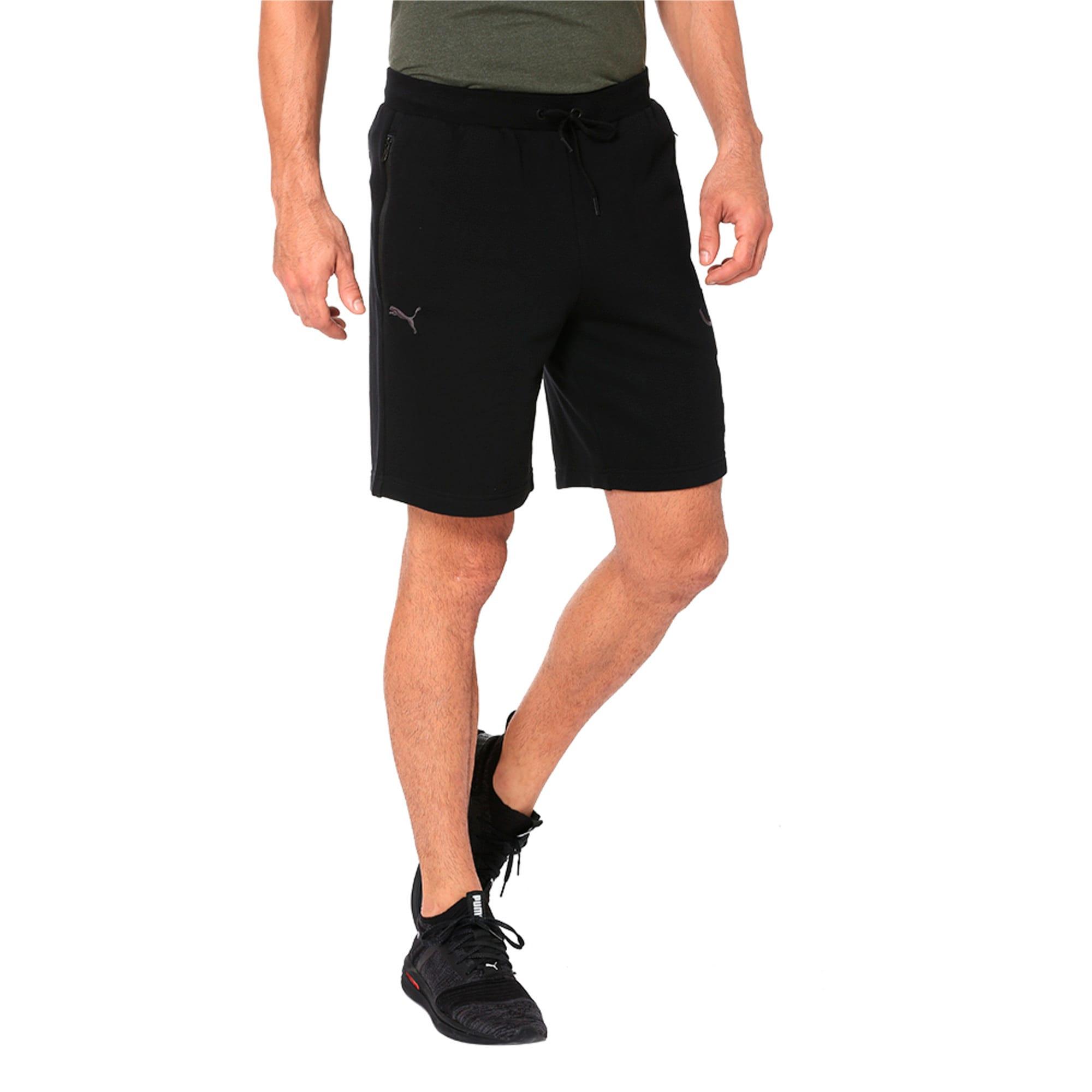 Thumbnail 1 of One8 VK Men's Sweat Shorts, Puma Black, medium-IND