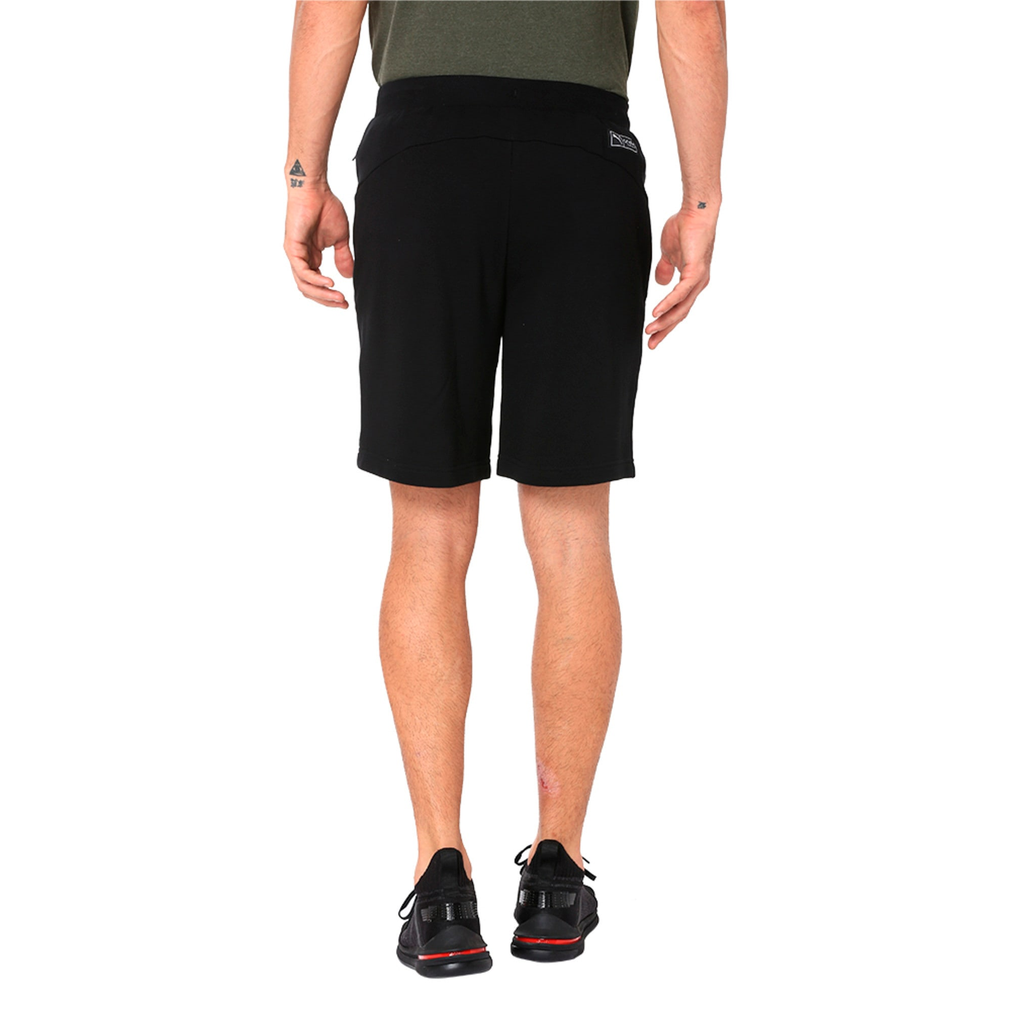 Thumbnail 2 of One8 VK Men's Sweat Shorts, Puma Black, medium-IND