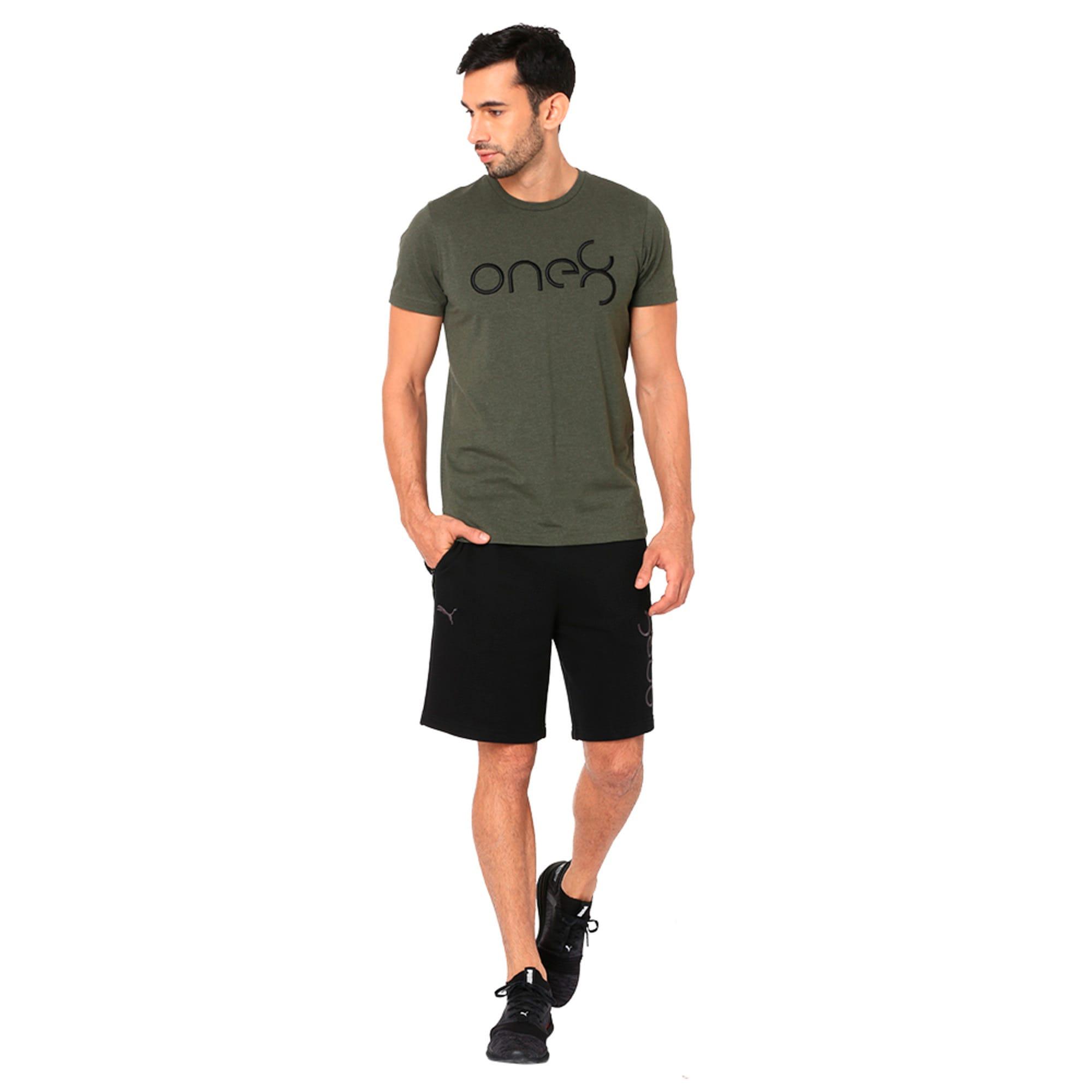 Thumbnail 3 of One8 VK Men's Sweat Shorts, Puma Black, medium-IND