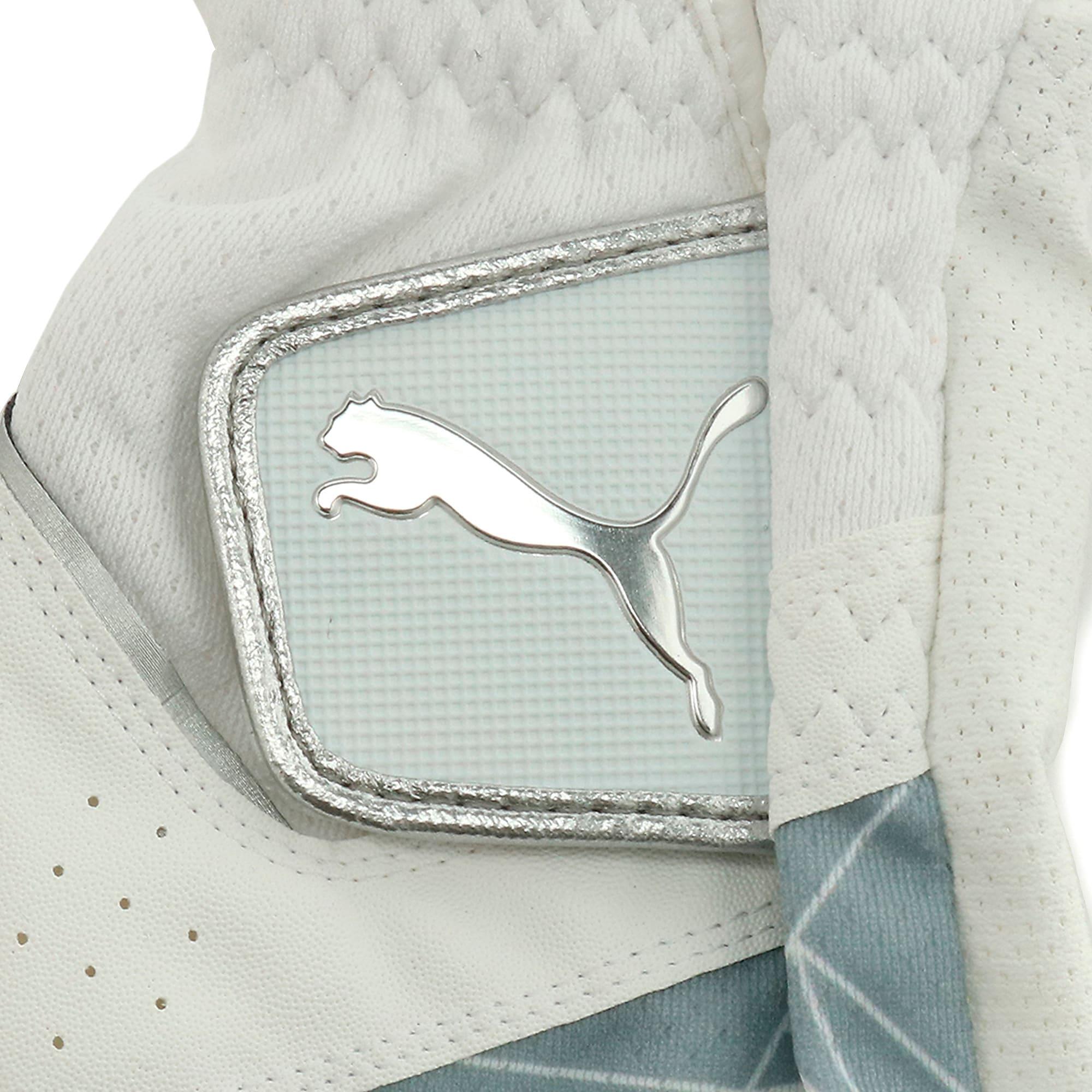 Thumbnail 3 of ゴルフ 3D サマー グローブ, White / Silver, medium-JPN