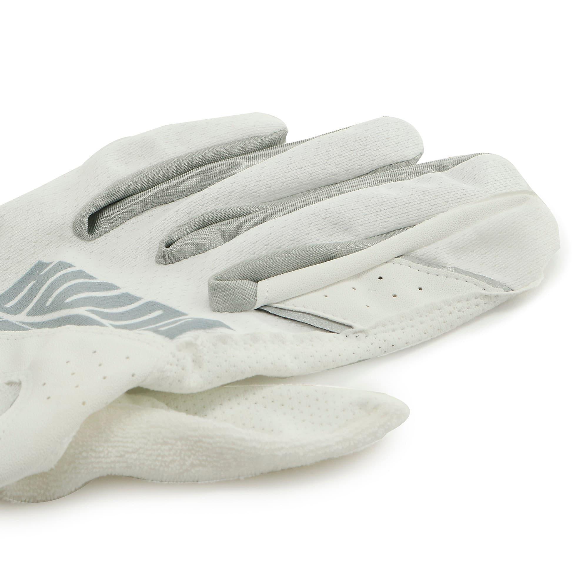 Thumbnail 4 of ゴルフ 3D サマー グローブ, White / Silver, medium-JPN