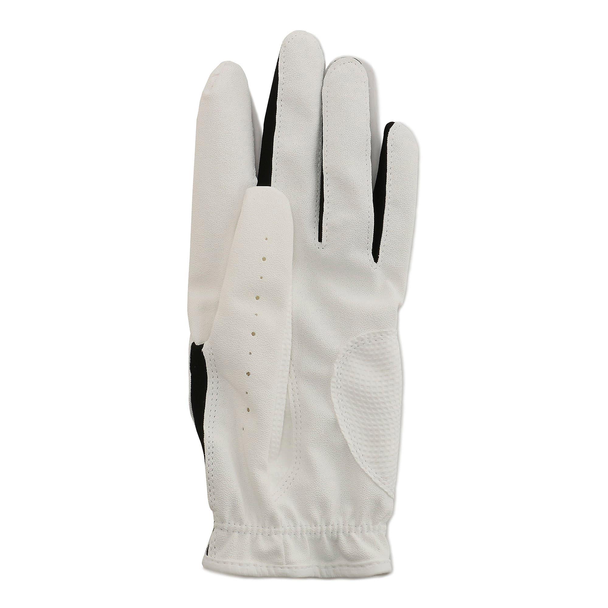 Thumbnail 2 of ゴルフ 3D ウィメンズ パフォーマンス グローブ 両手用, White / Puma Black, medium-JPN