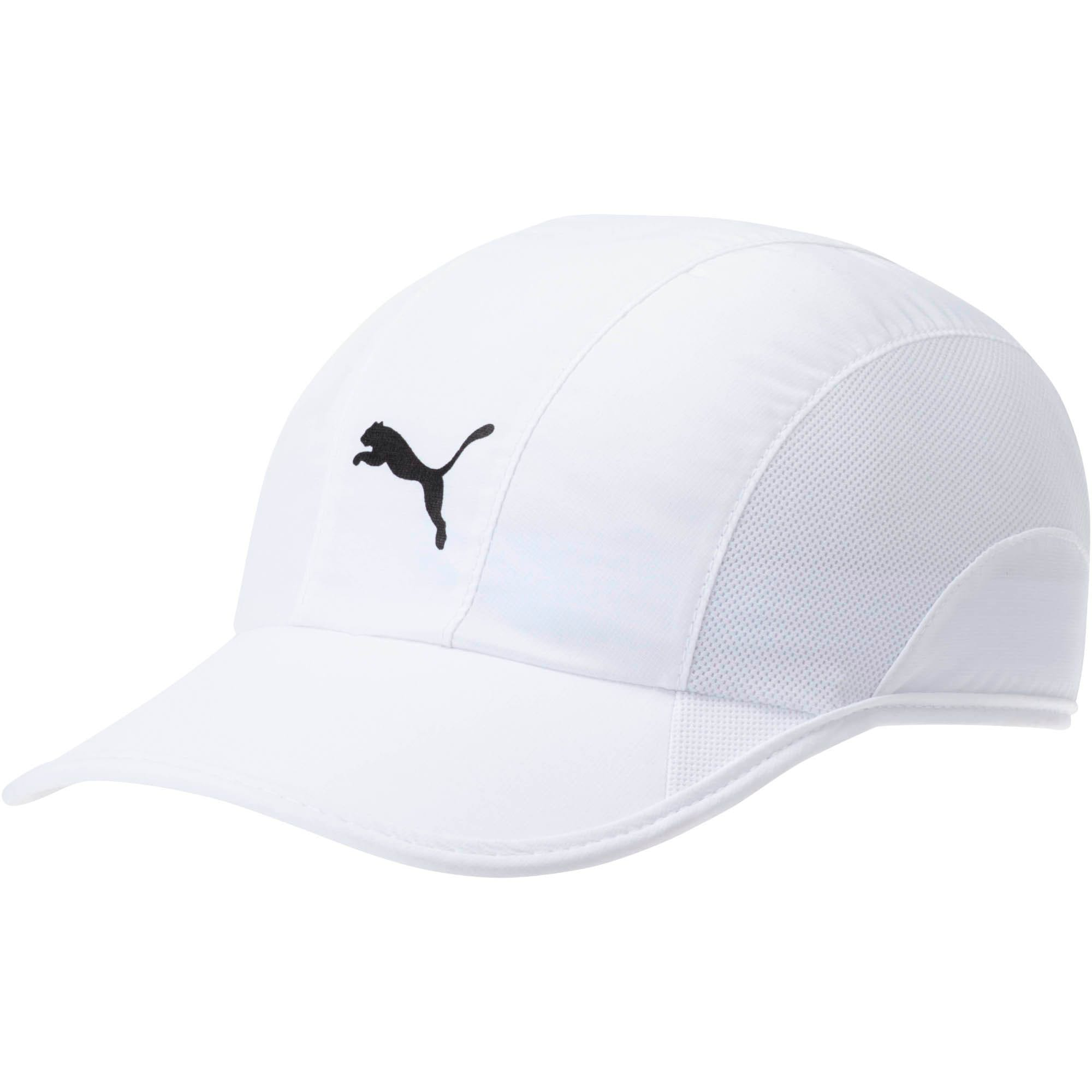 Thumbnail 1 of Lightweight Runner Hat, White, medium