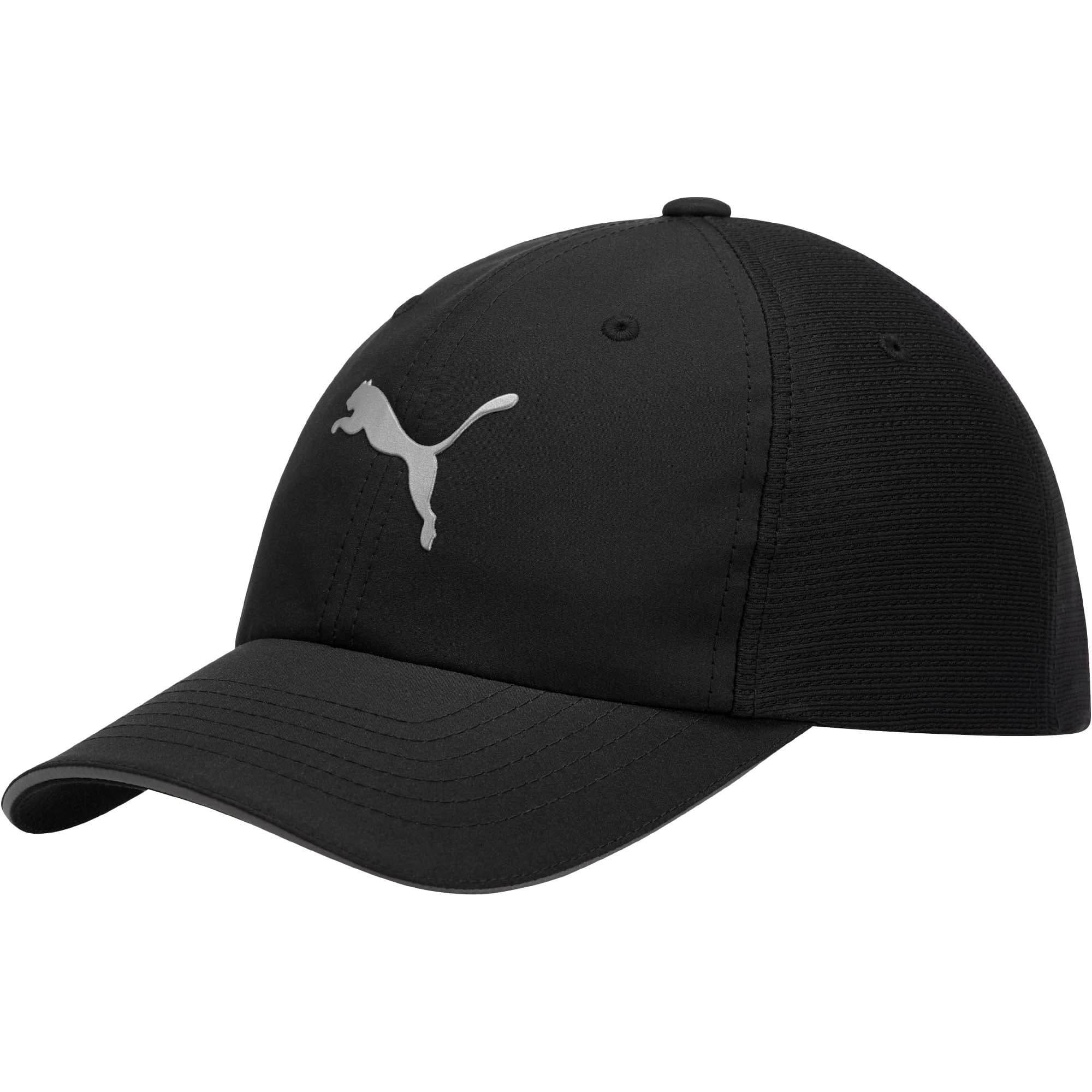 Thumbnail 1 of Mesh Running Hat, black, medium