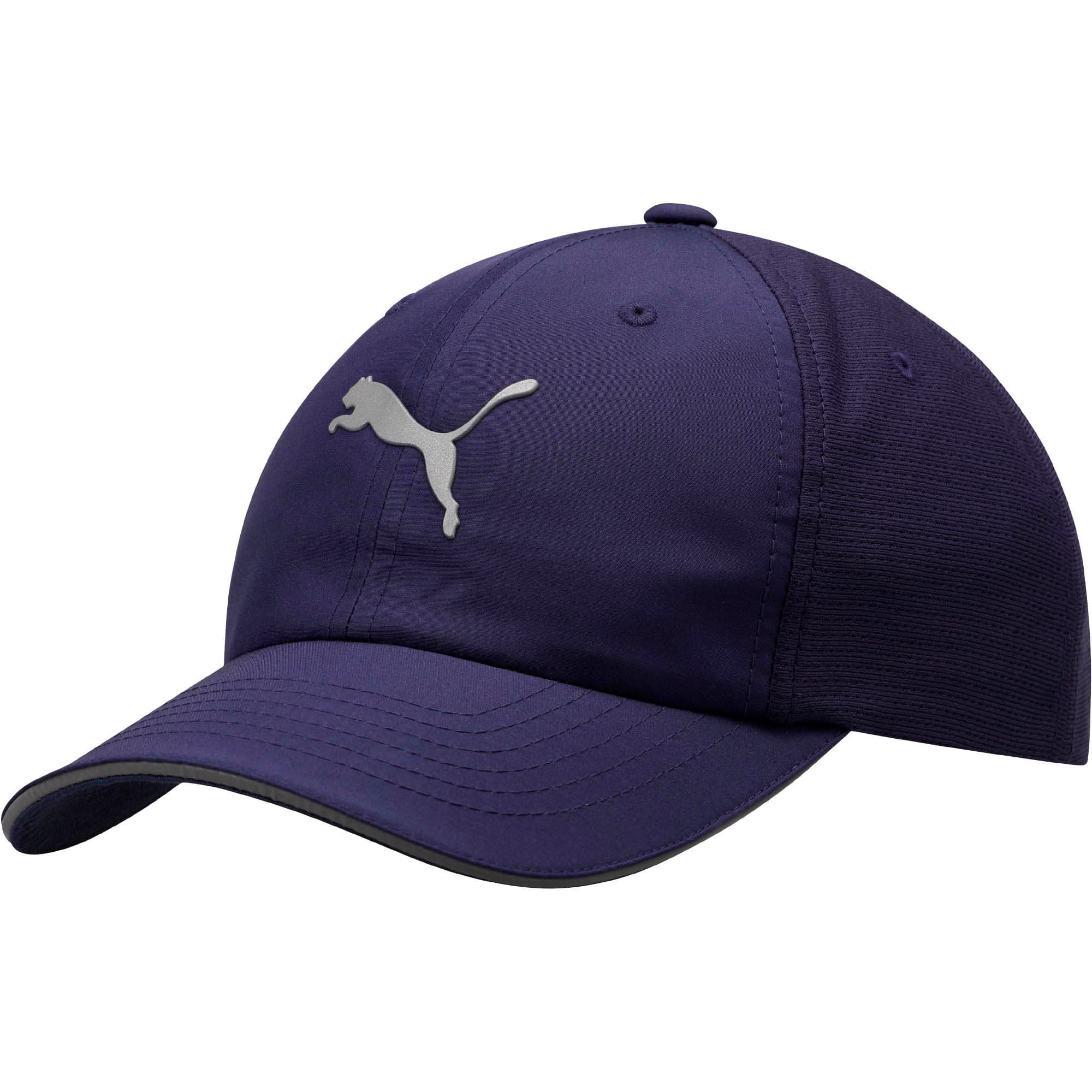 Thumbnail 1 of Mesh Running Hat, NAVY, medium