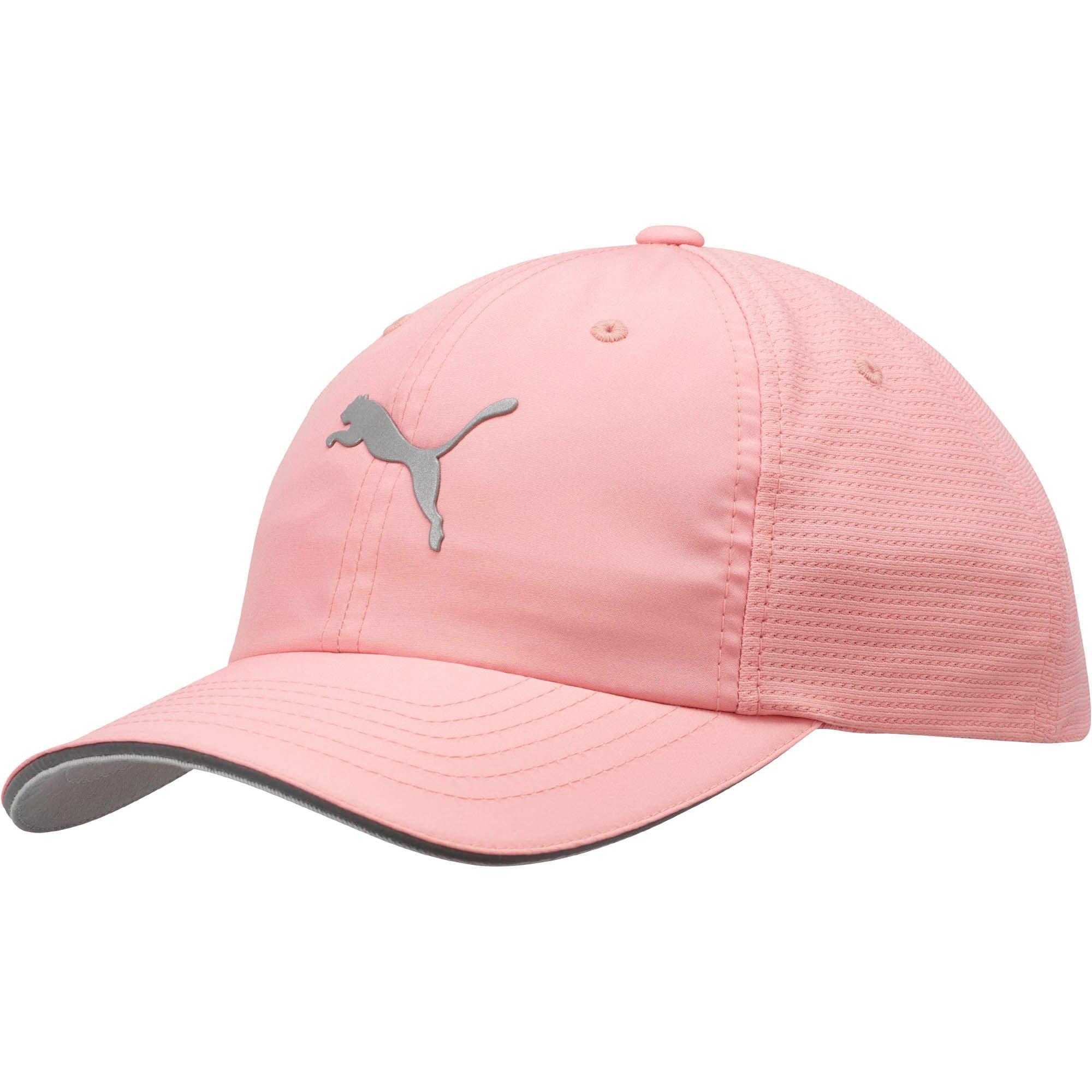 Thumbnail 1 of Mesh Running Hat, LT PASTEL PINK, medium