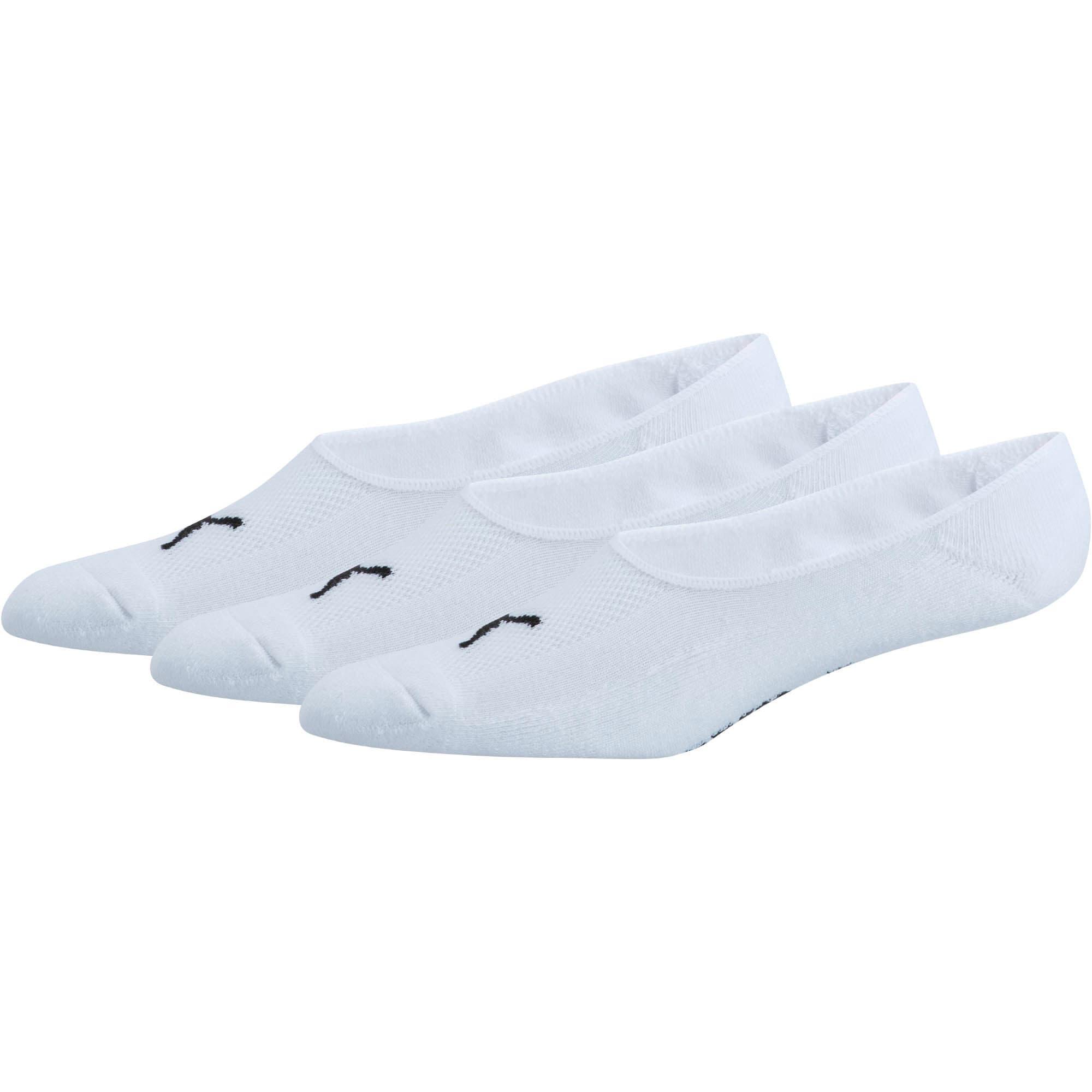Miniatura 1 de Calcetines para hombre Liner (paquete de 3), blanco-negro, mediano