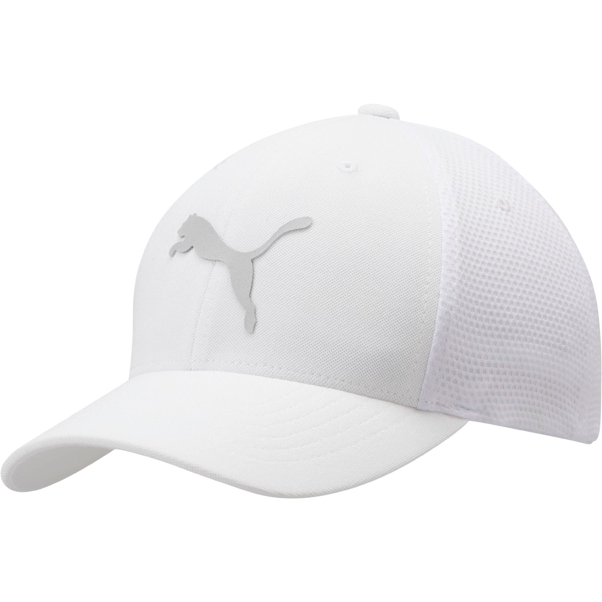 Thumbnail 1 of Boost Performance Flexfit Cap, WHITE, medium