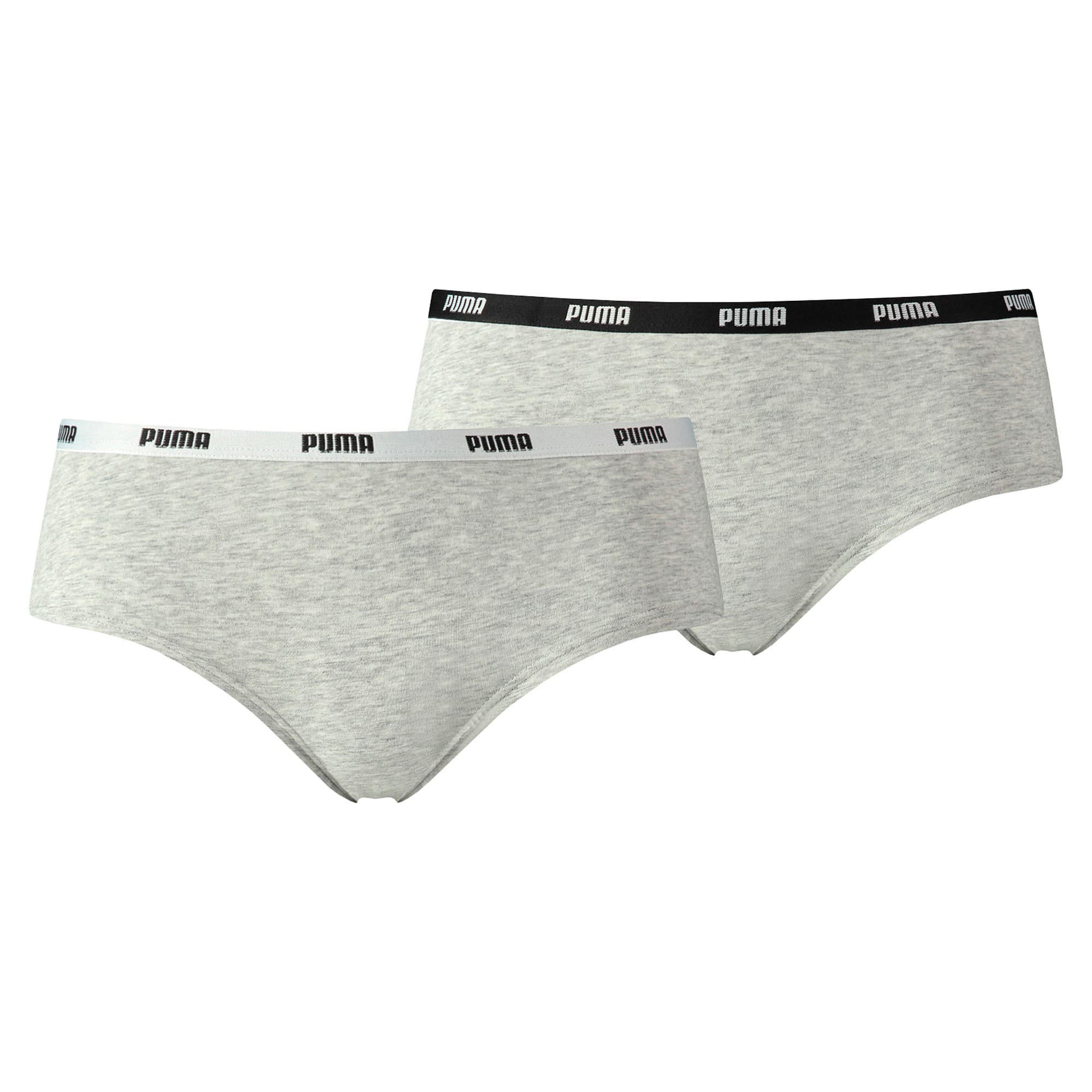 Thumbnail 1 of Women's Iconic Hipster 2 Pack, grey / grey, medium