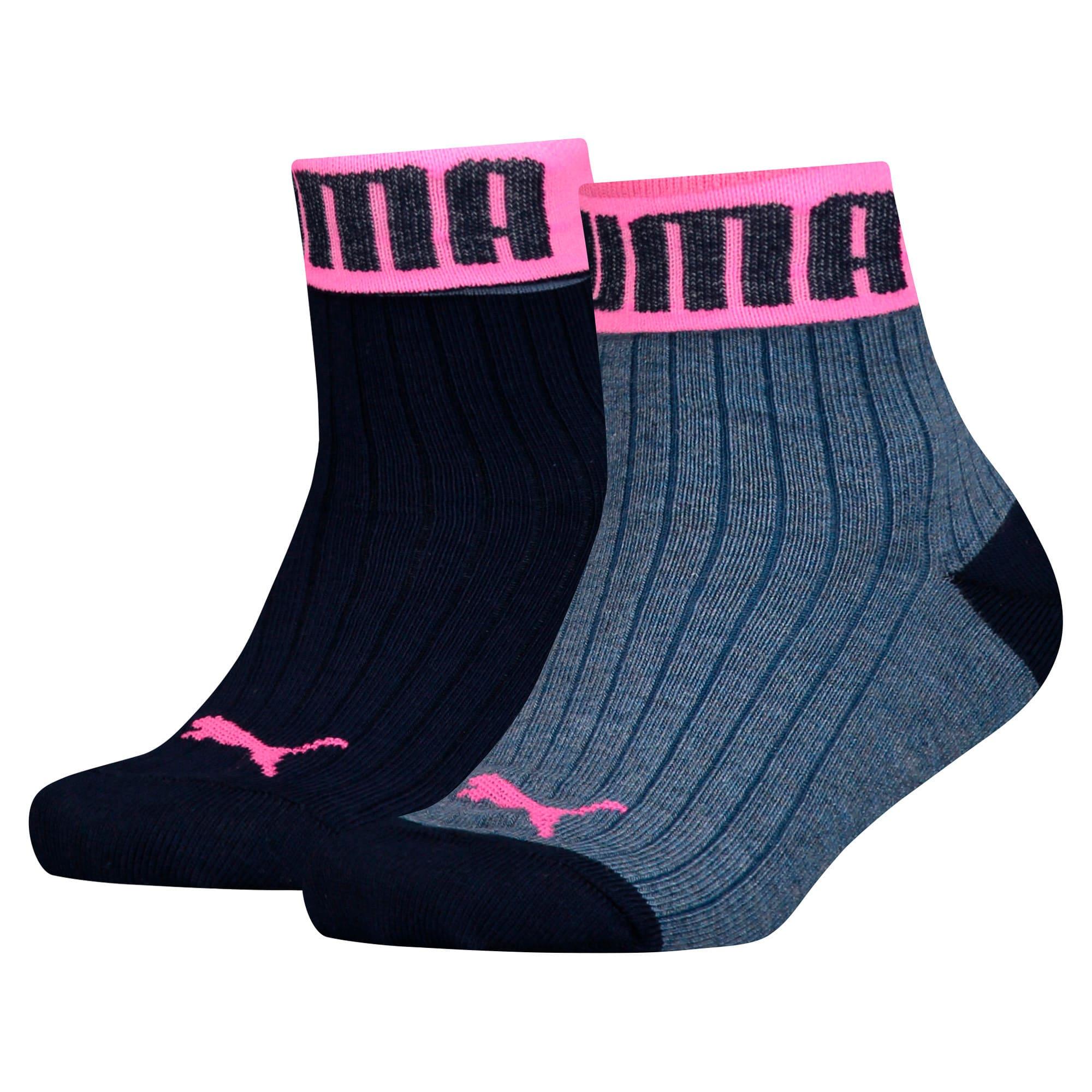 Thumbnail 1 of Girls' Socks 2 Pack, girls denim, medium