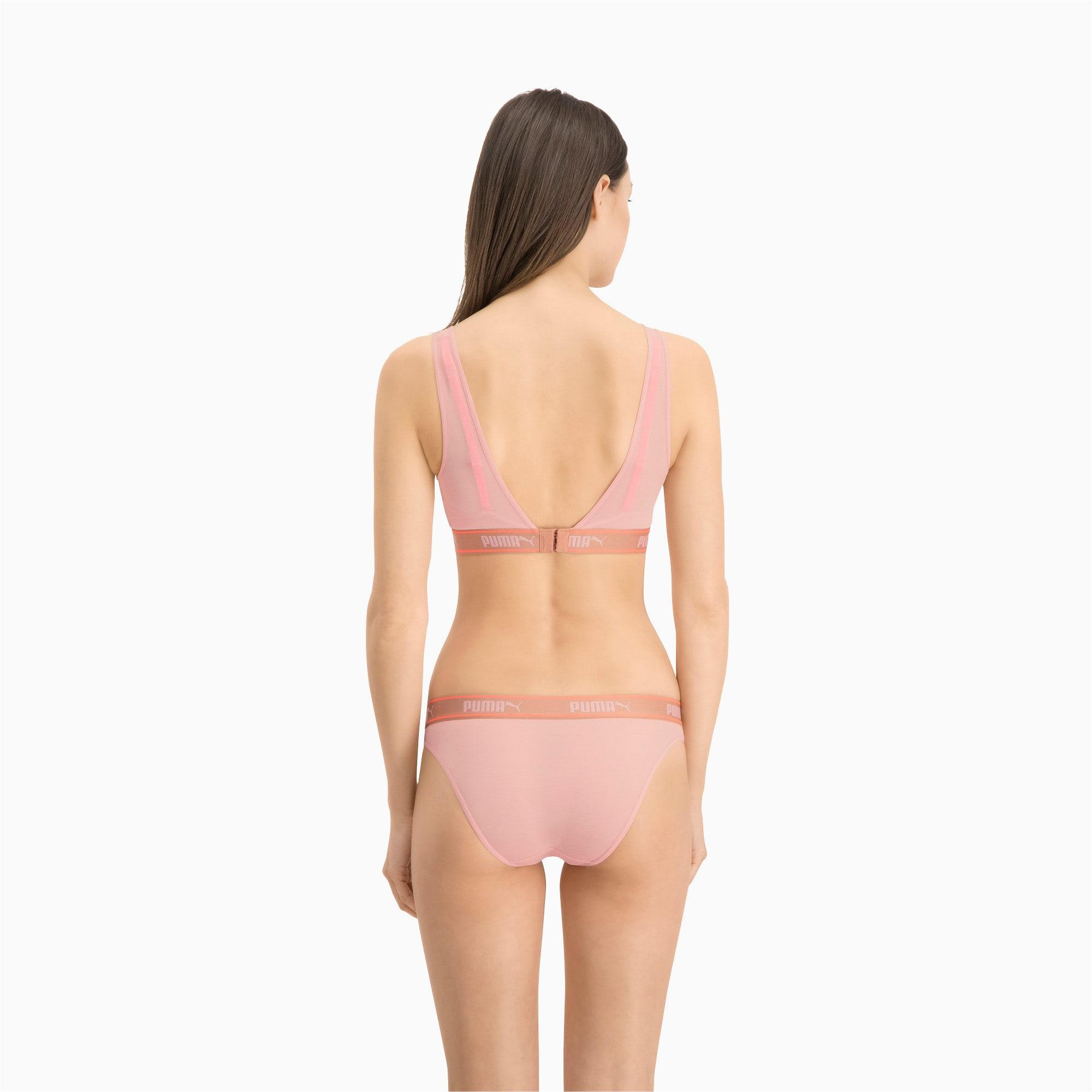 Thumbnail 4 of Lot de deux slips bikini Mesh pour femme, pink, medium