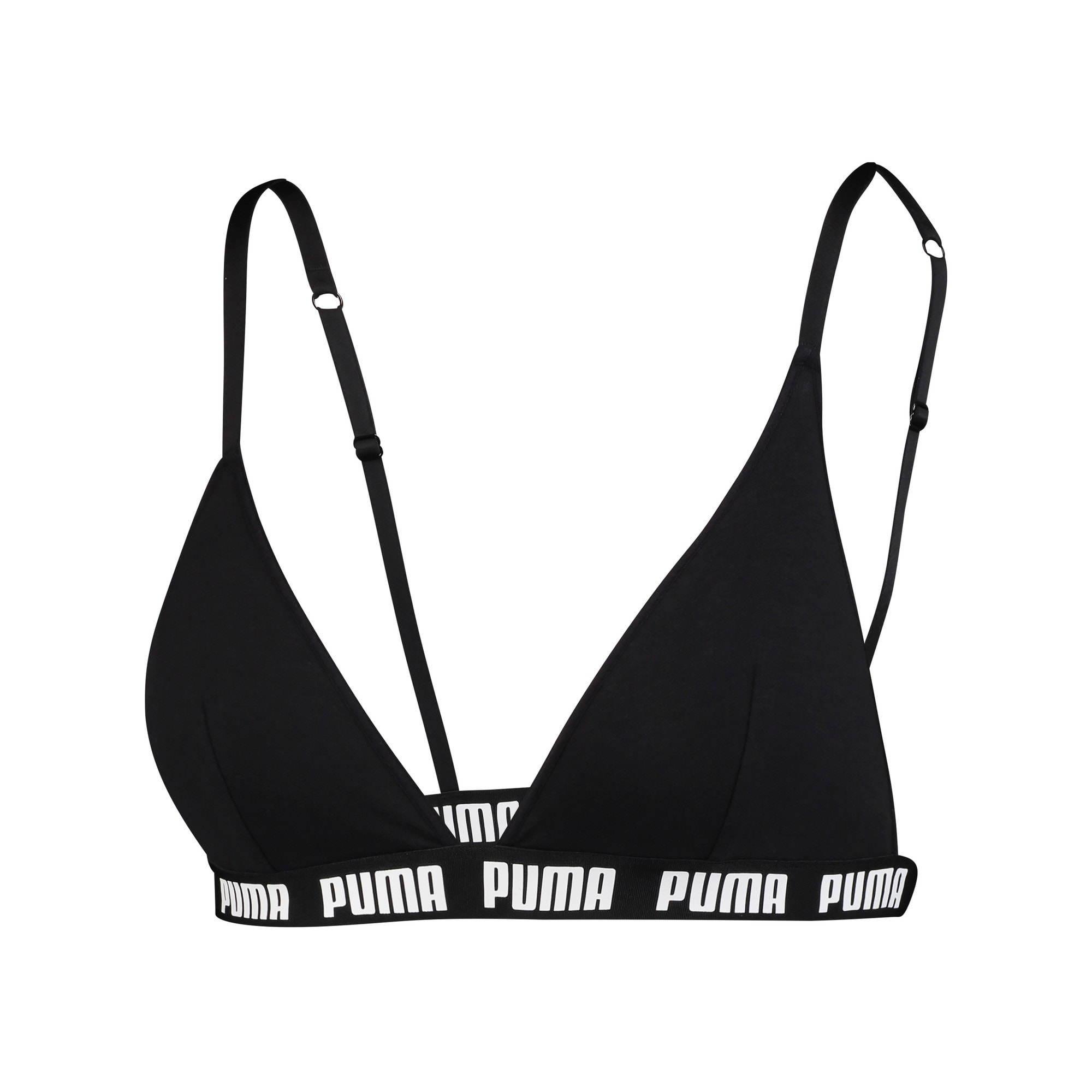 Thumbnail 3 of Triangle Women's Bralette, black, medium