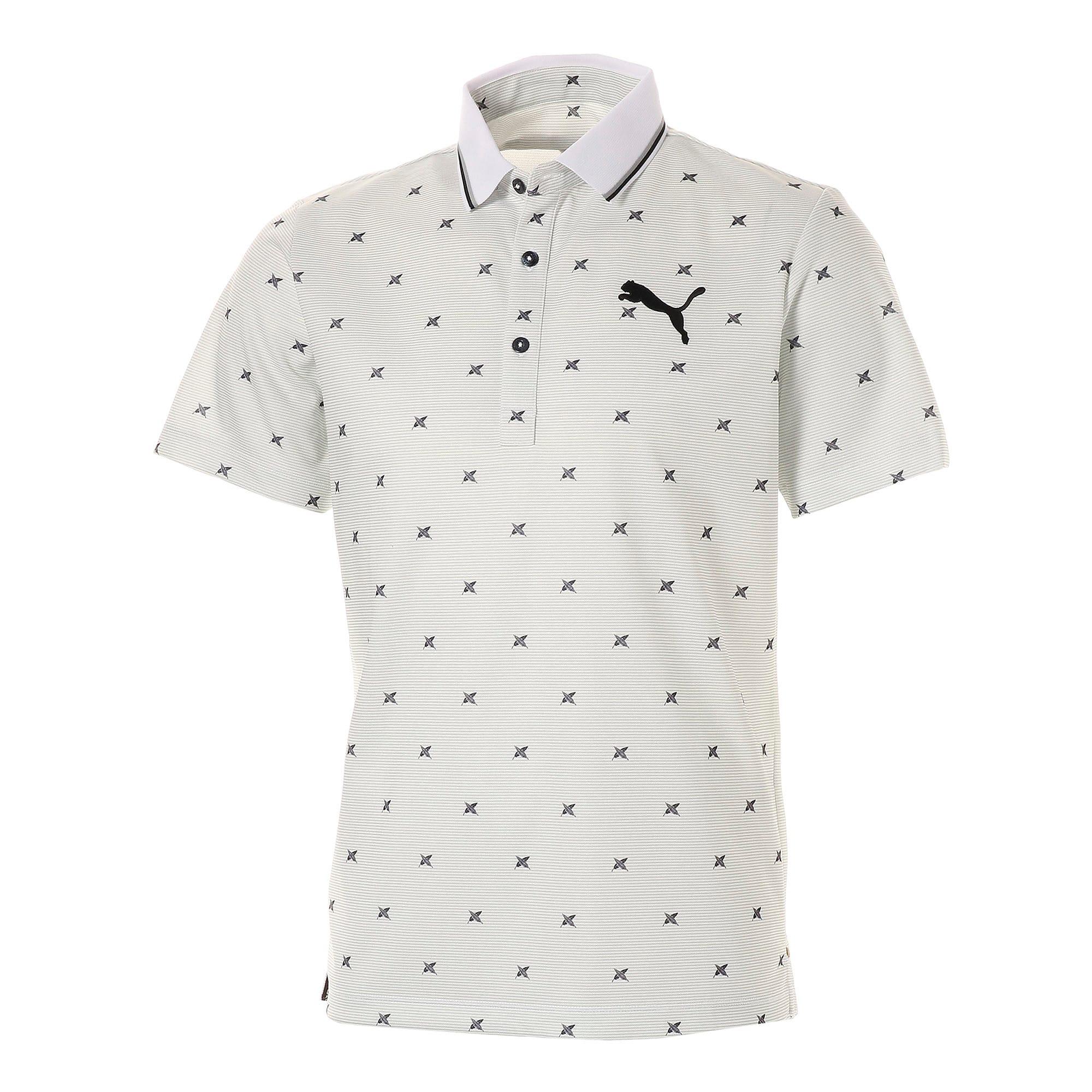 Thumbnail 1 of ゴルフ フェザーフュージョン SSポロシャツ 半袖, Bright White, medium-JPN