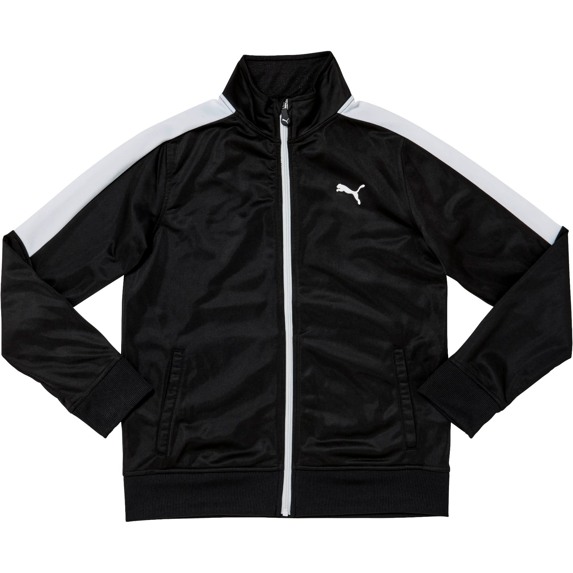 Thumbnail 1 of Boys' Track Jacket JR, PUMA BLACK, medium