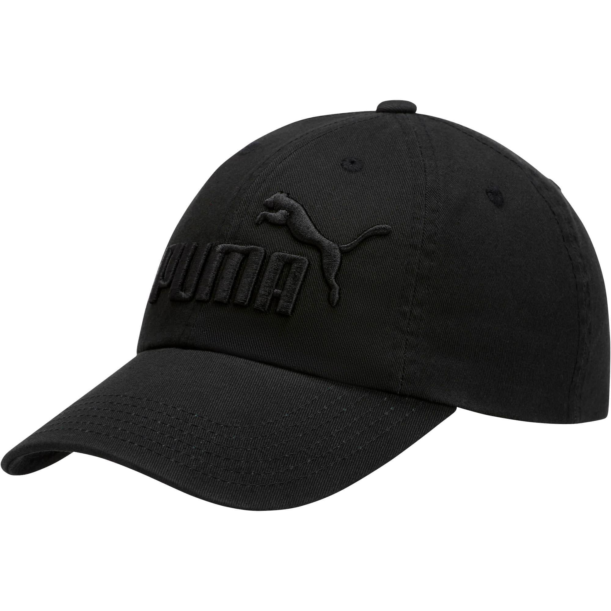 Thumbnail 1 of PUMA #1 Relaxed Fit Adjustable Hat, Black, medium