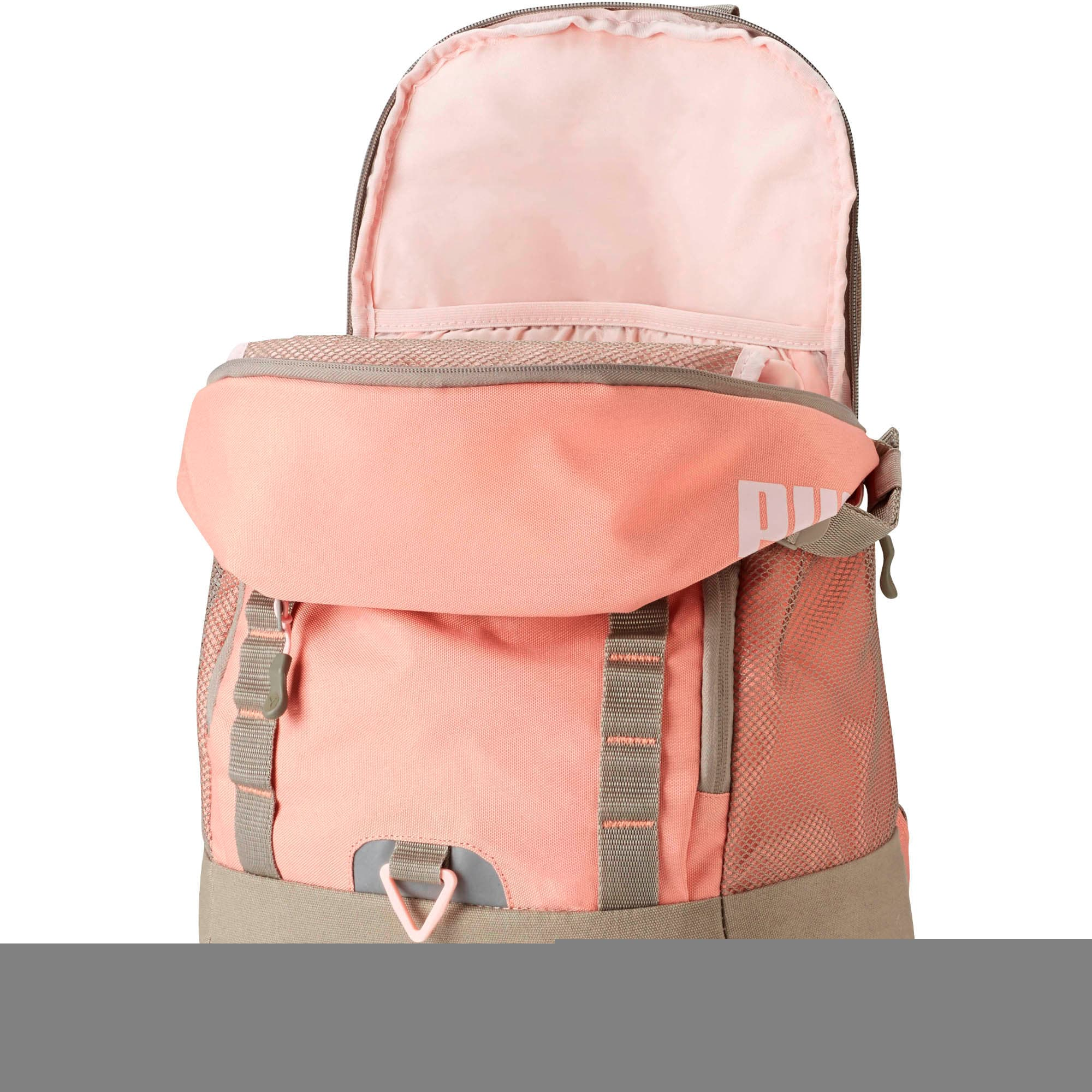 Miniatura 2 de Mochila EVERCAT Fraction, Peach Beige, mediano