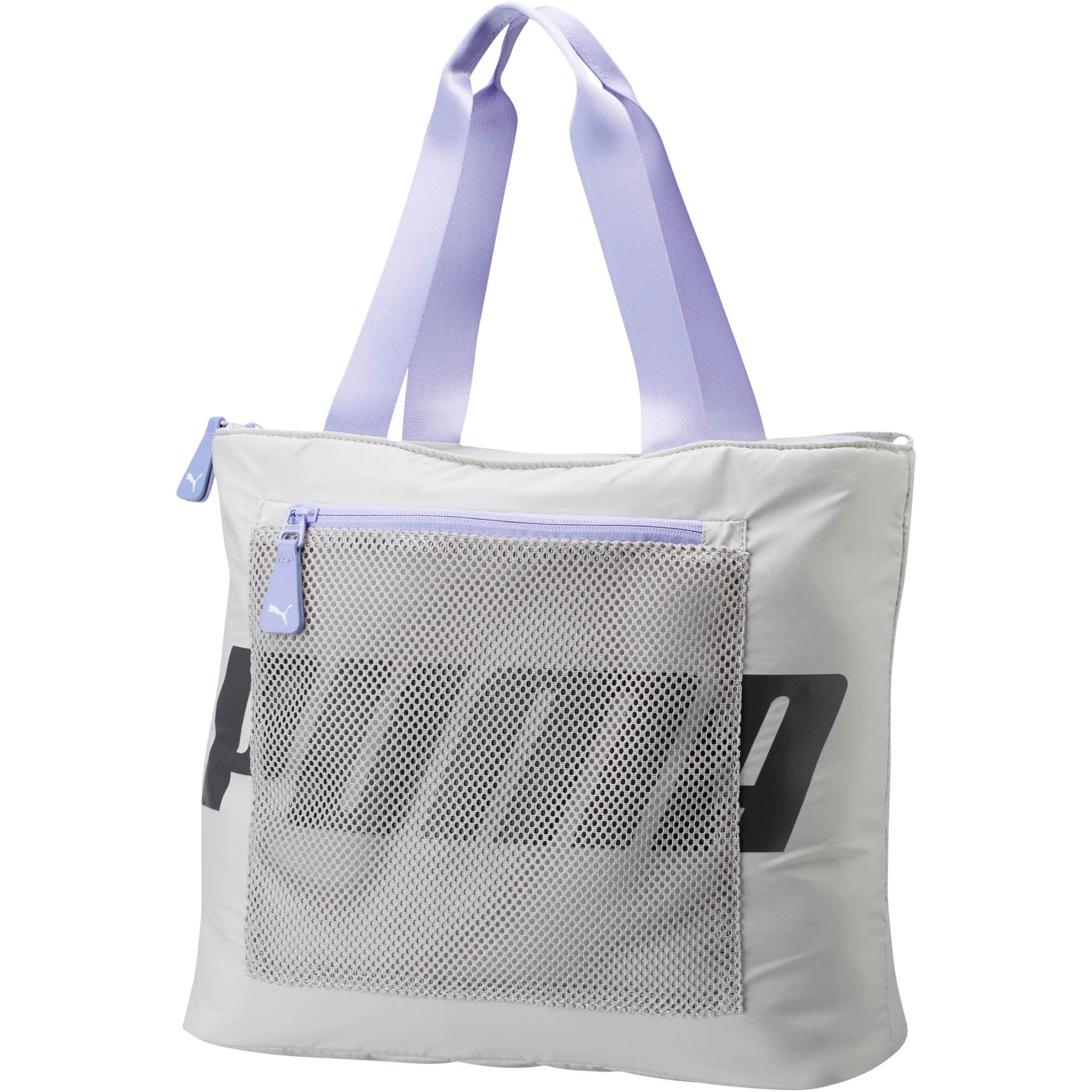 Thumbnail 1 of Vicky Tote, Grey/Purple, medium