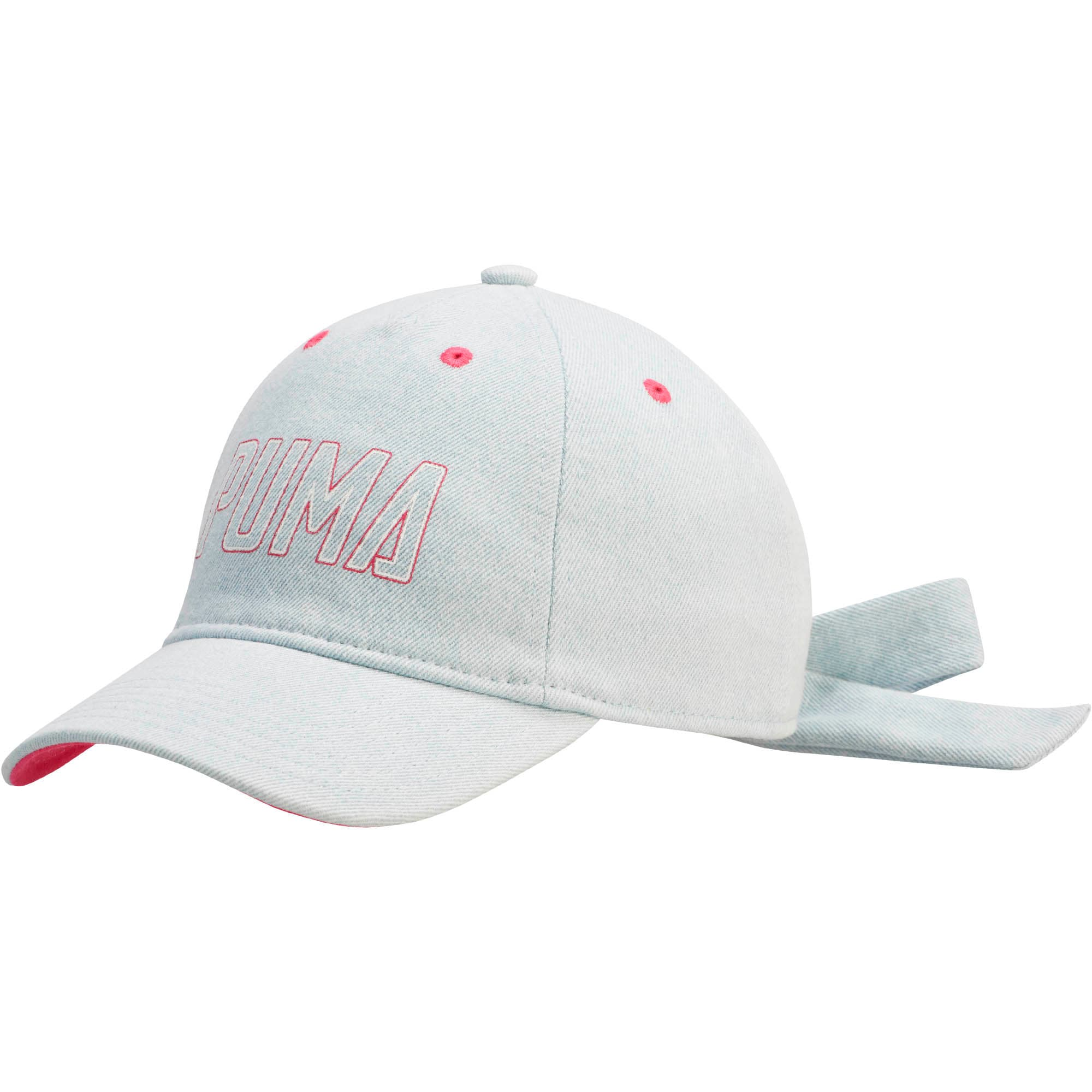 Thumbnail 1 of The Halftime Adjustable Cap, BLUE / PINK, medium